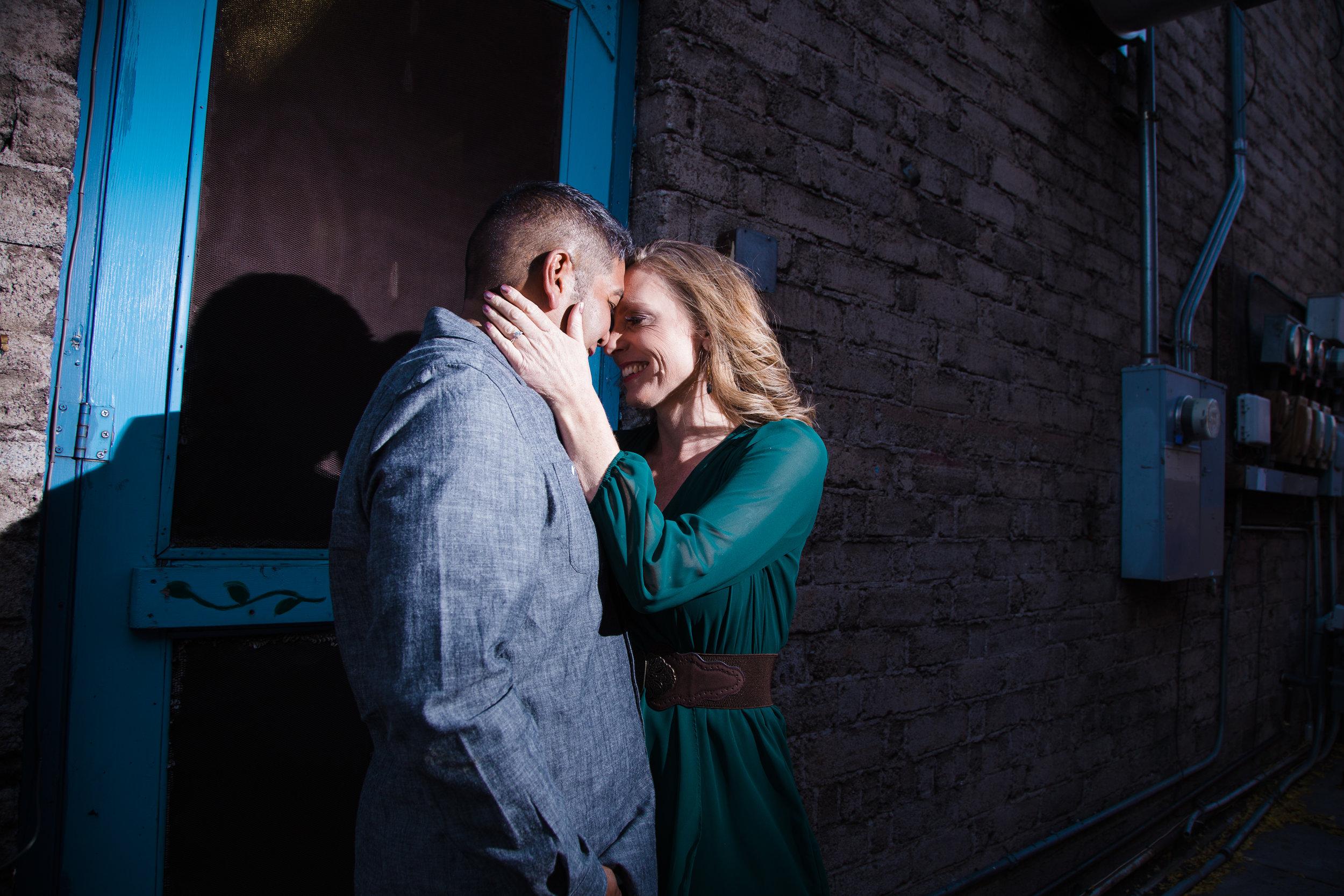 Off the beaten path. Flagstaff engagement photographer.