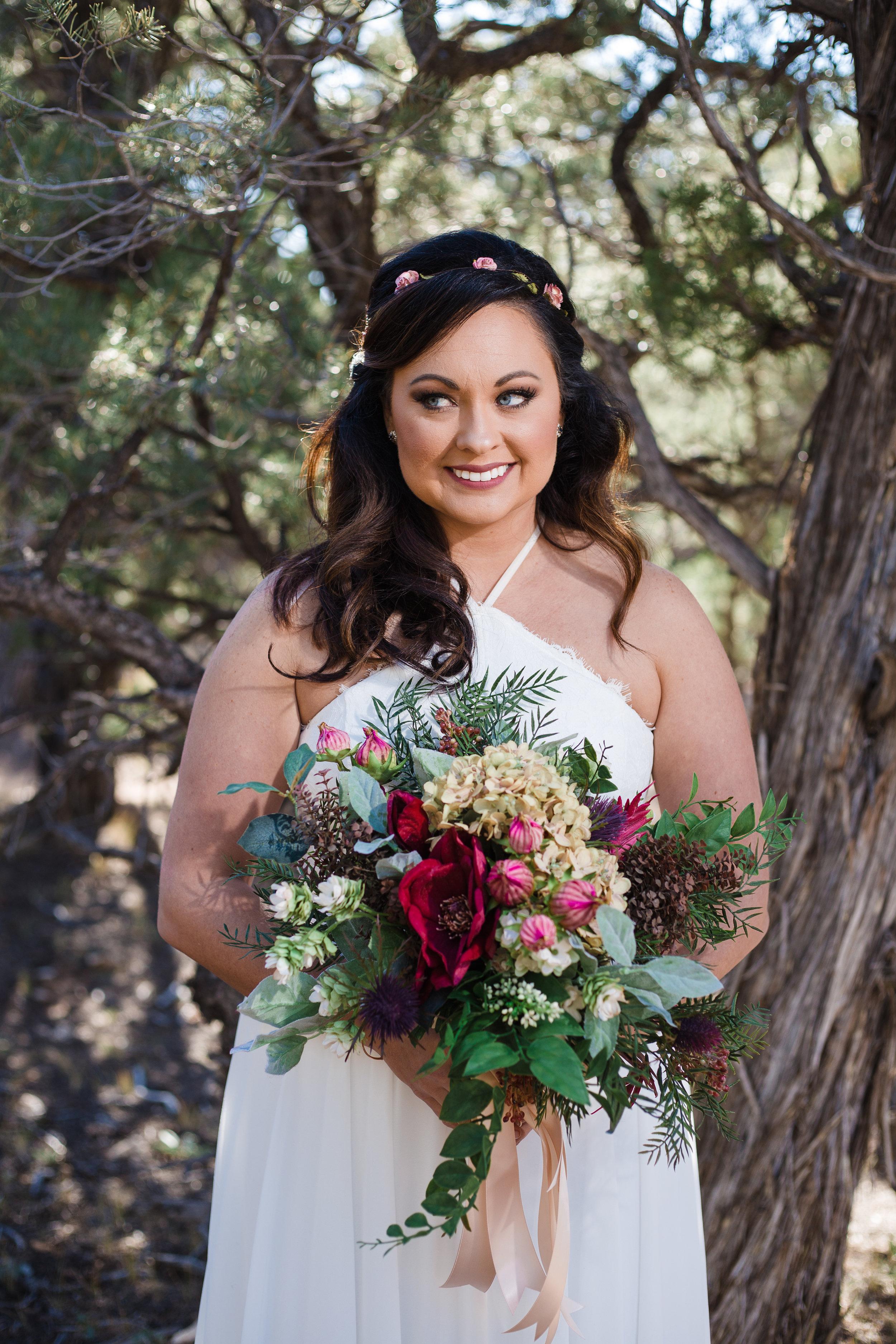 Grand Canyon bride.