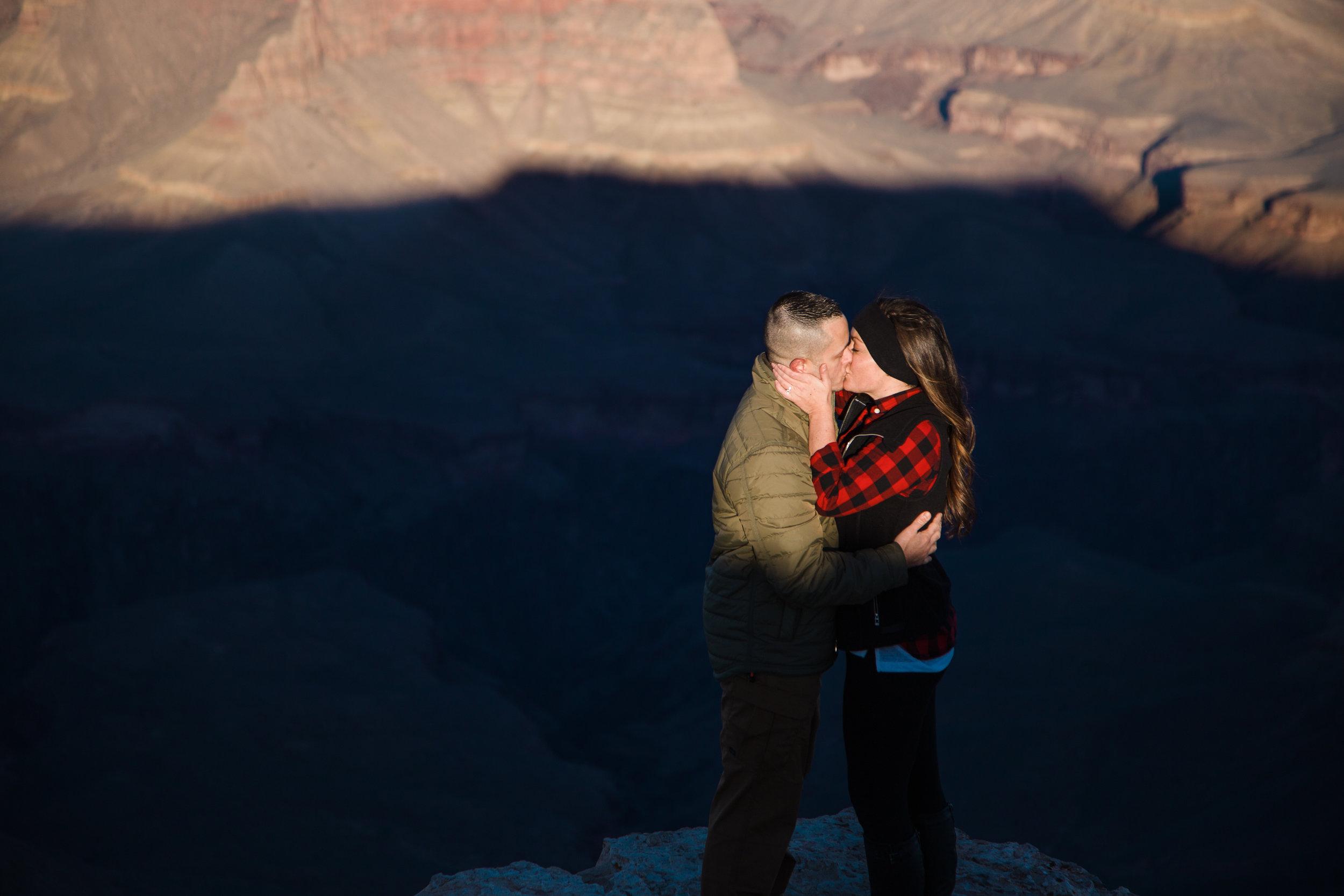 Shadow and light at Grand Canyon National Park.