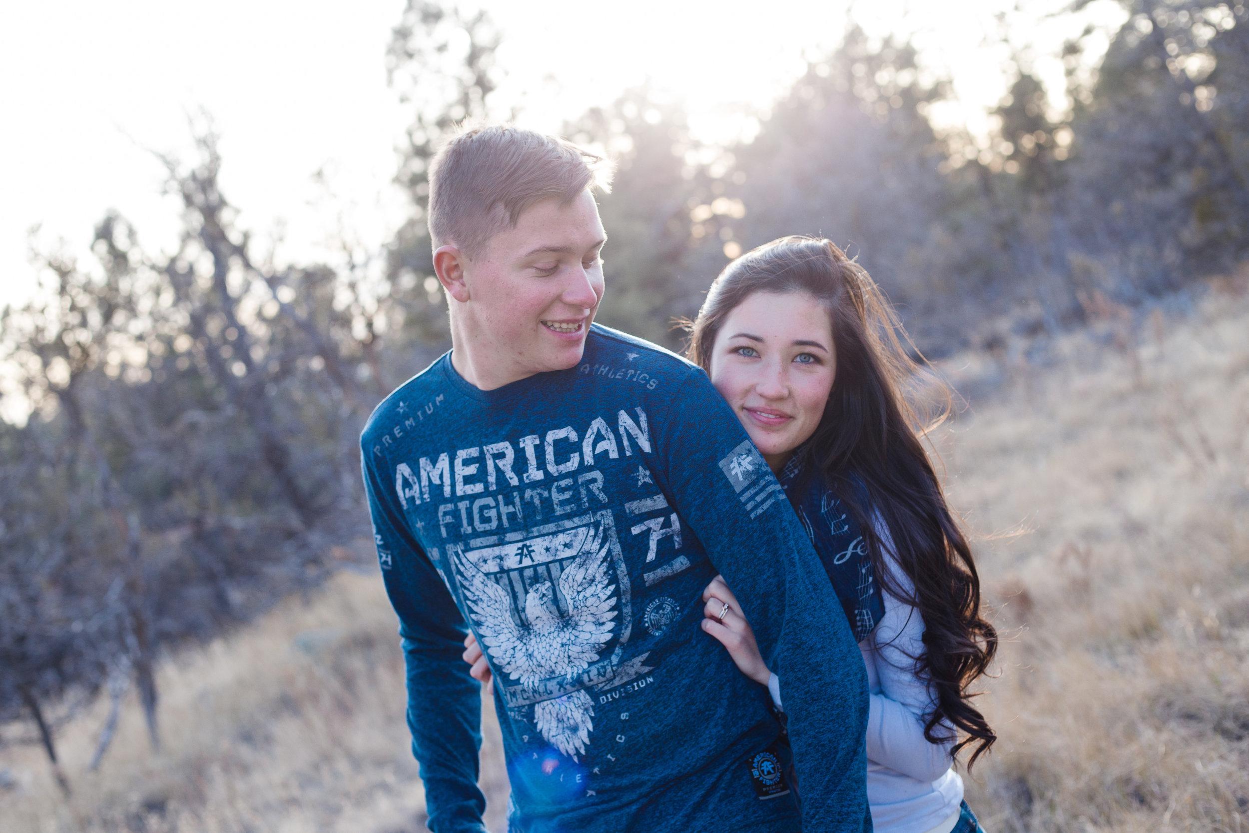 Arizona engagement photographer.
