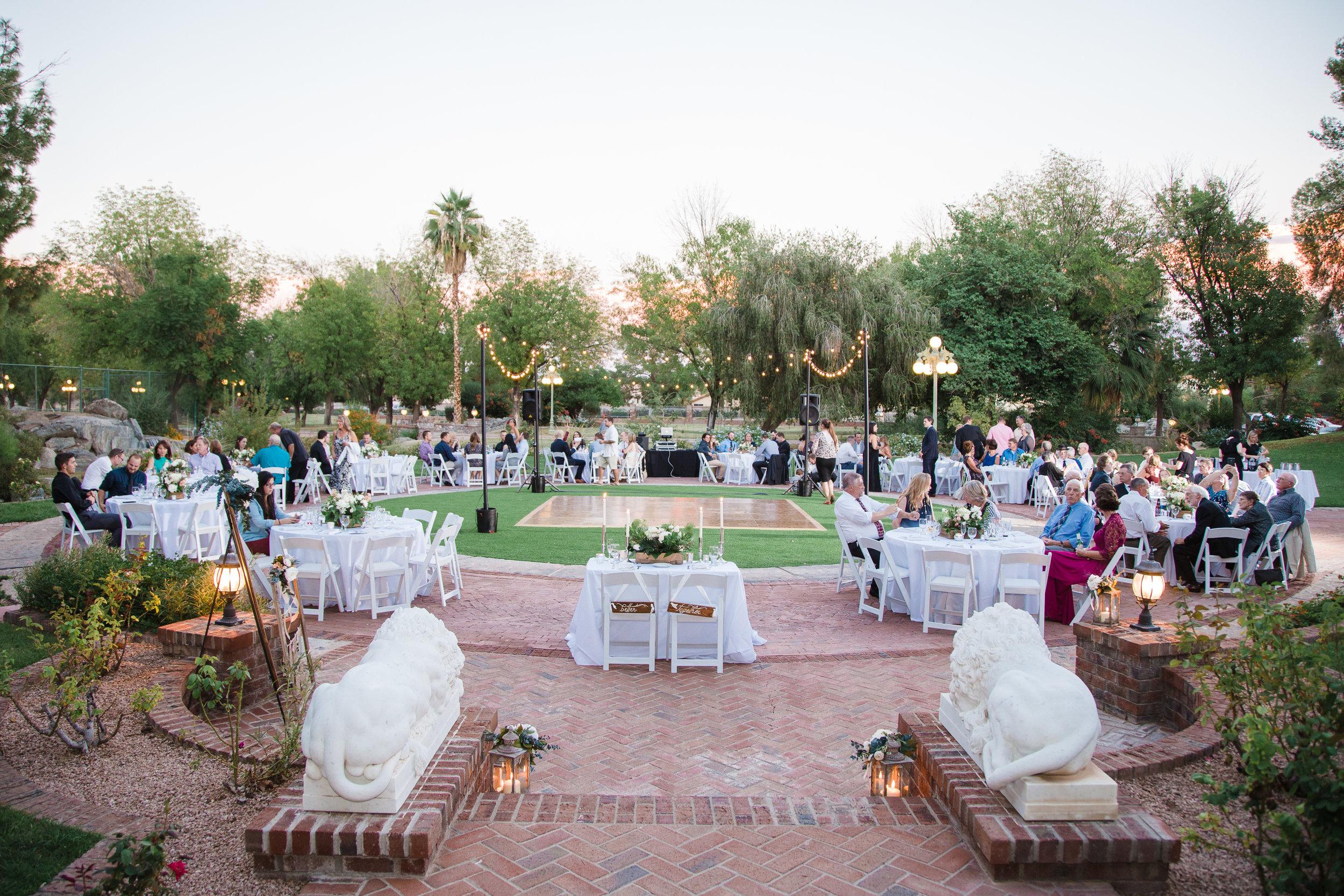 Chateau de View wedding reception venue