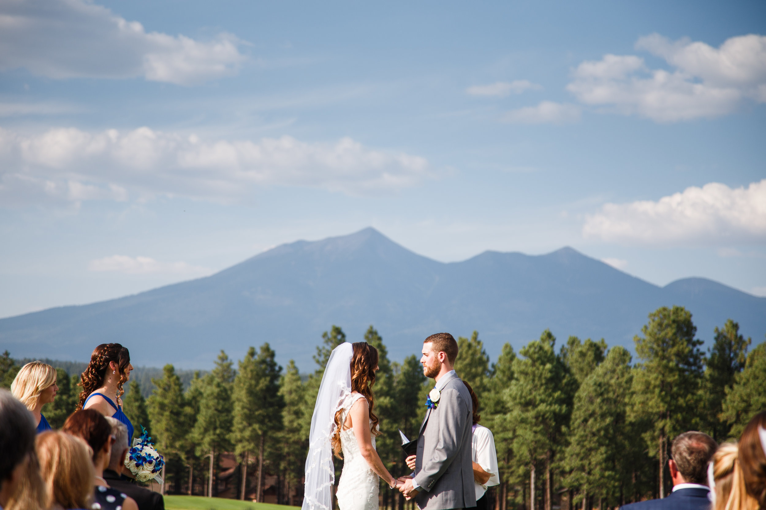 Flagstaff Ranch offers an O.K view of the San Francisco Peaks. Just kidding, it's pretty fantastic!