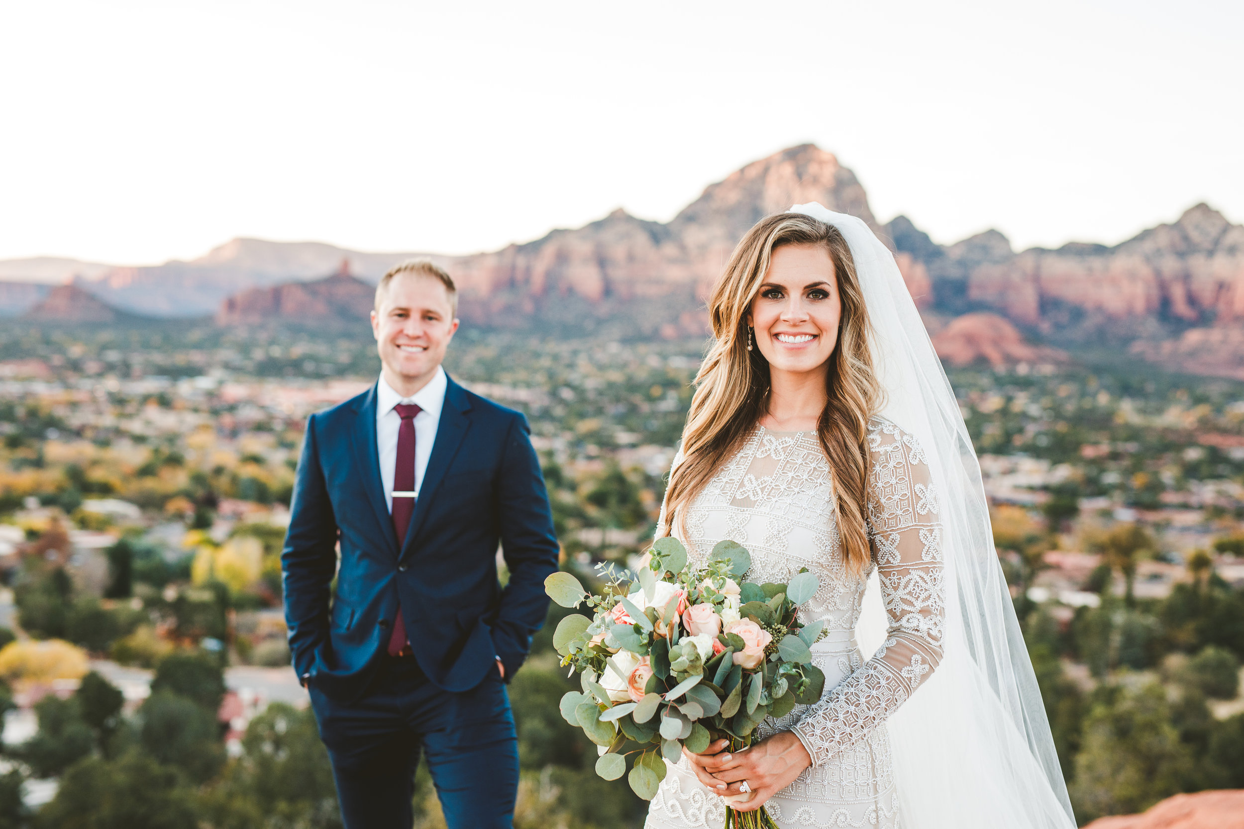 Maggie and Karl: Sedona Sky Ranch Lodge Wedding. Click image to view slideshow.