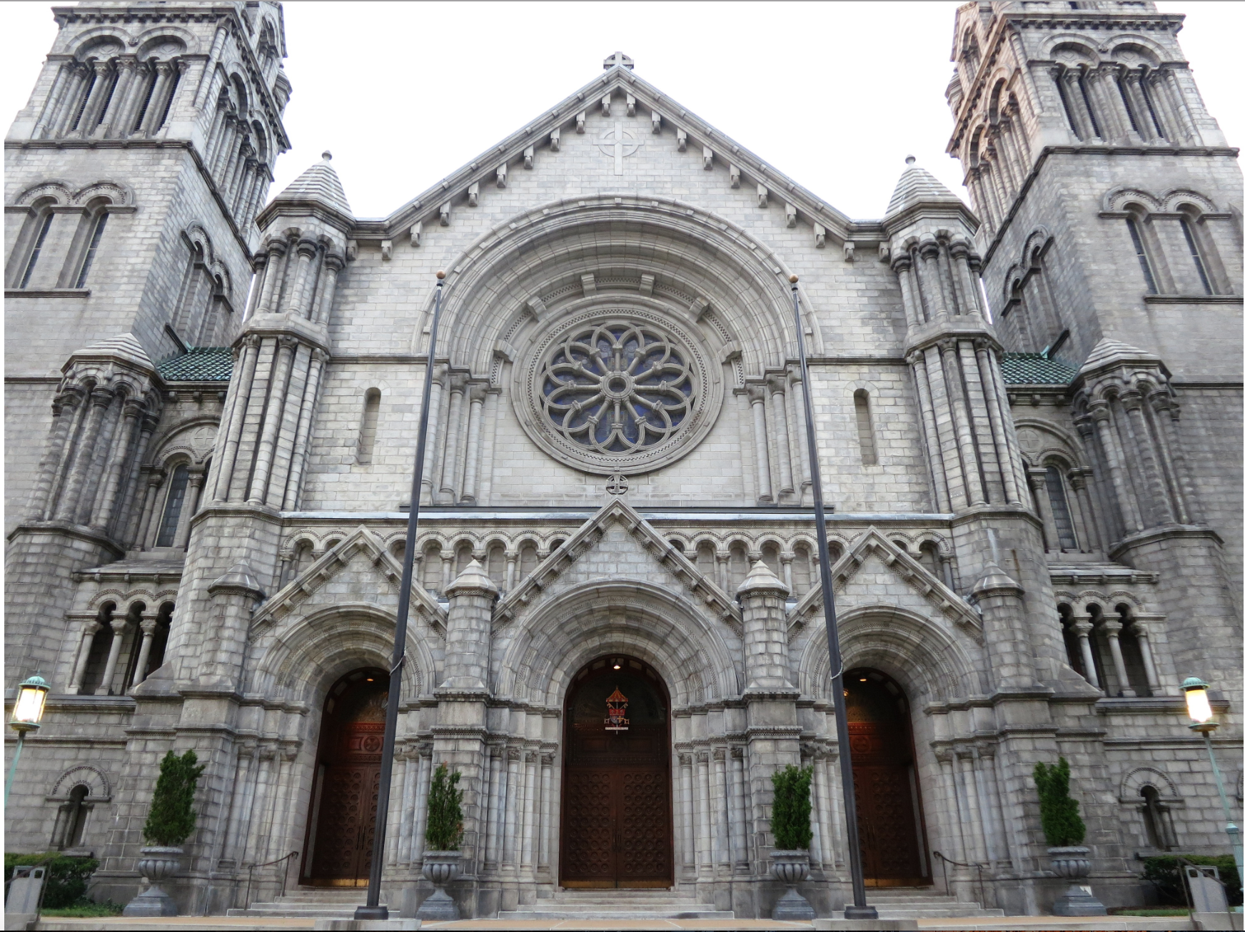 Cathedral Basilica of St. Louis. Photo by Ena Kovac, March 23, 2017.