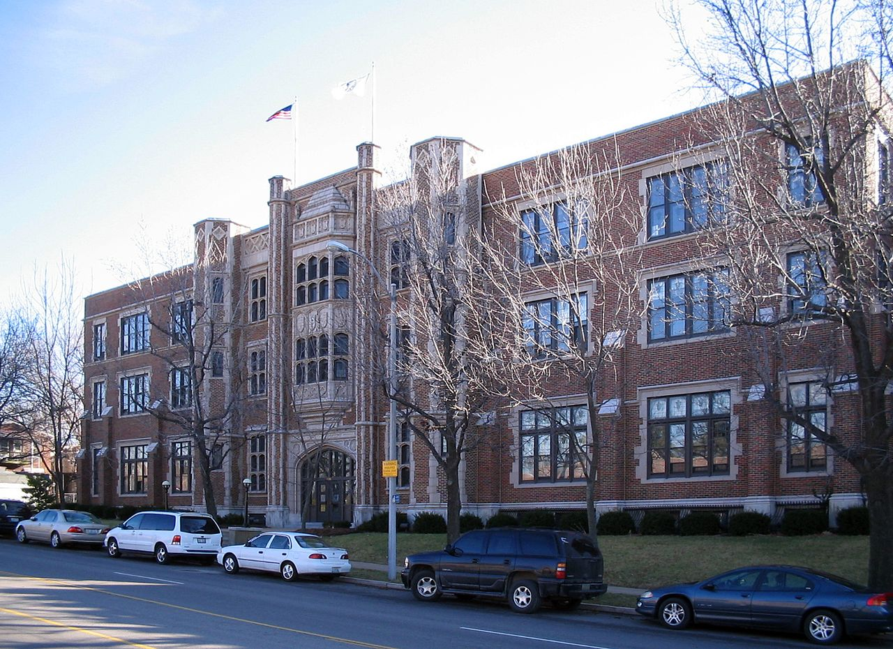 Saint Louis University High School.