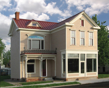 Renovated  Ritter House  completed. The project began in 2004.