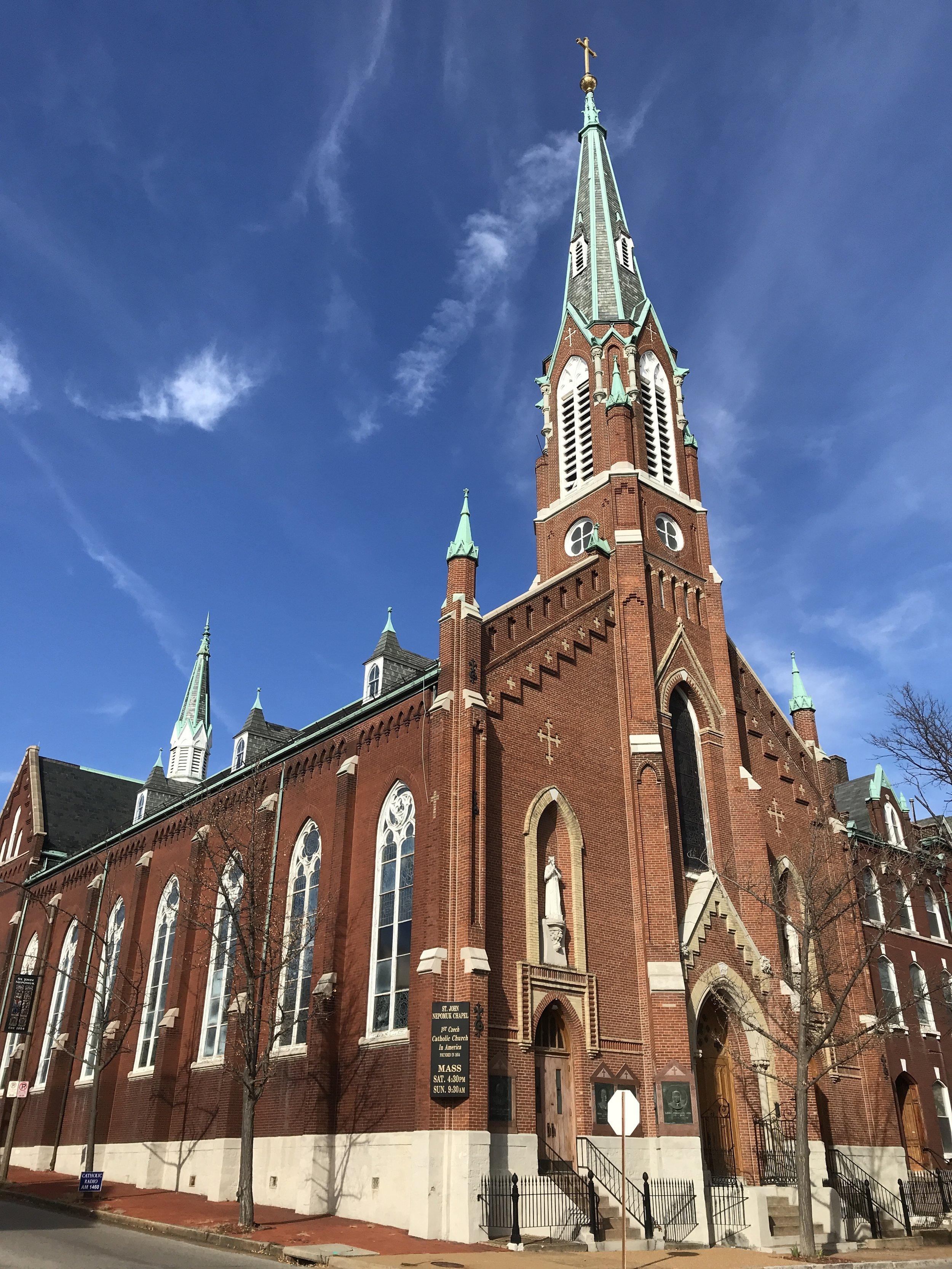 St. John Nepomuk Catholic Church. St. Louis, Mo.