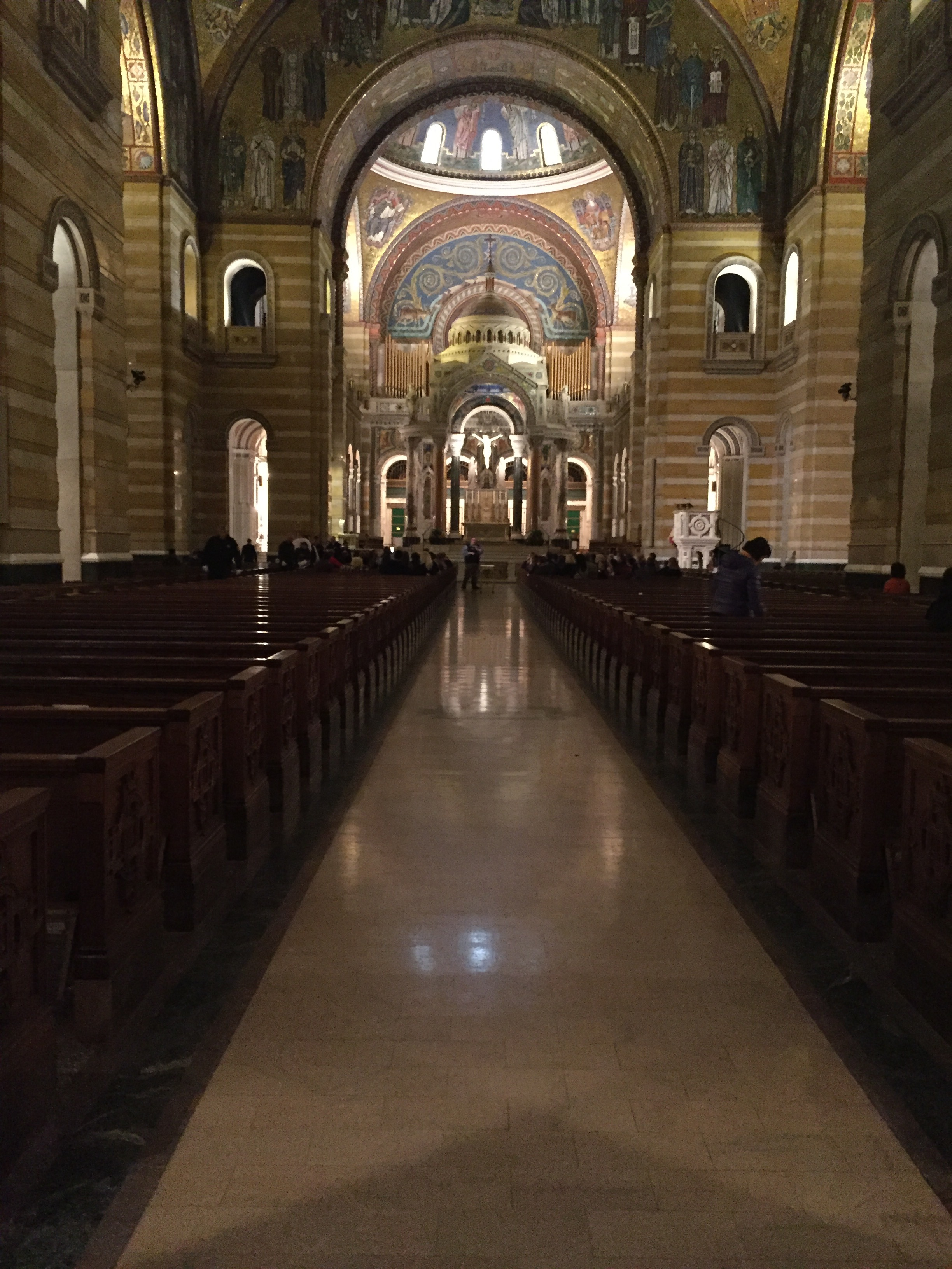Cathedral Basilica of St. Louis.St. Louis, Mo. Photo by Kat Lane, 2017.