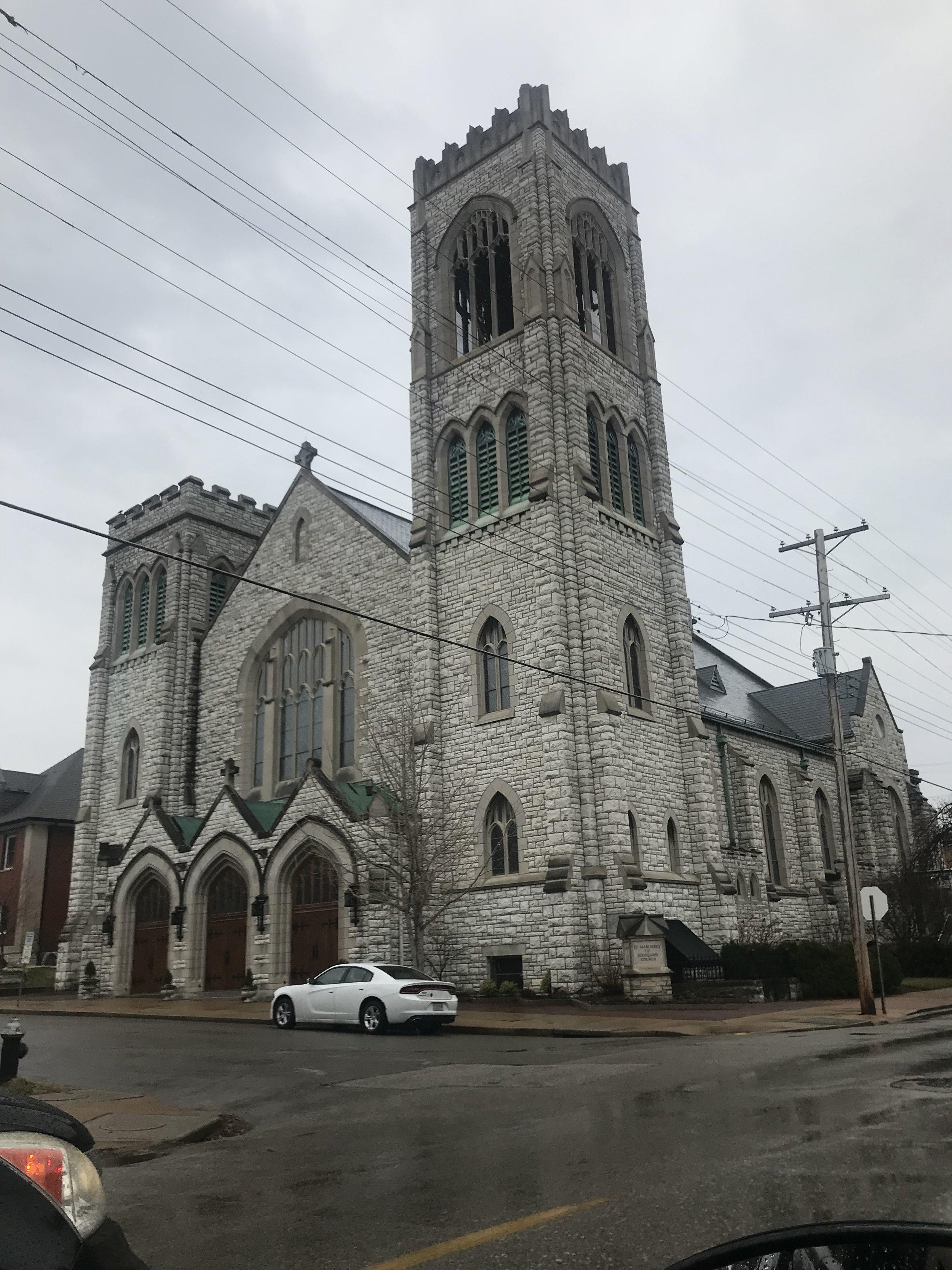 St. Margaret of Scotland Catholic Church. St. Louis, Mo.