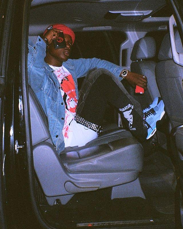 Bloody Dior in Cactus Jack Air Jordan 4s