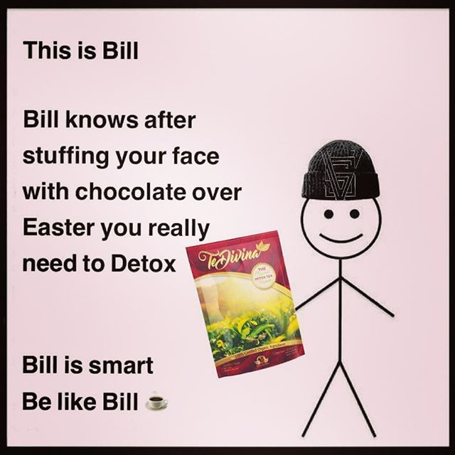 Be like bill 😉 I'm ordering some more tomorrow for clients so who needs a clear out? #Hardcorehealing #detox #cleanse #detoxtea #weightloss #summerbody #organic #herbalism #colon