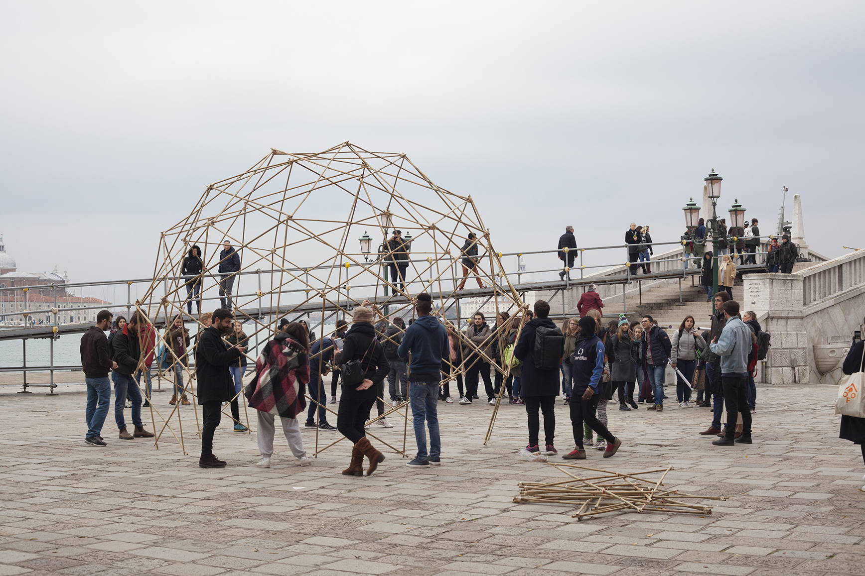 team Roof for Humanity Venice event at the architecture biennale 2016