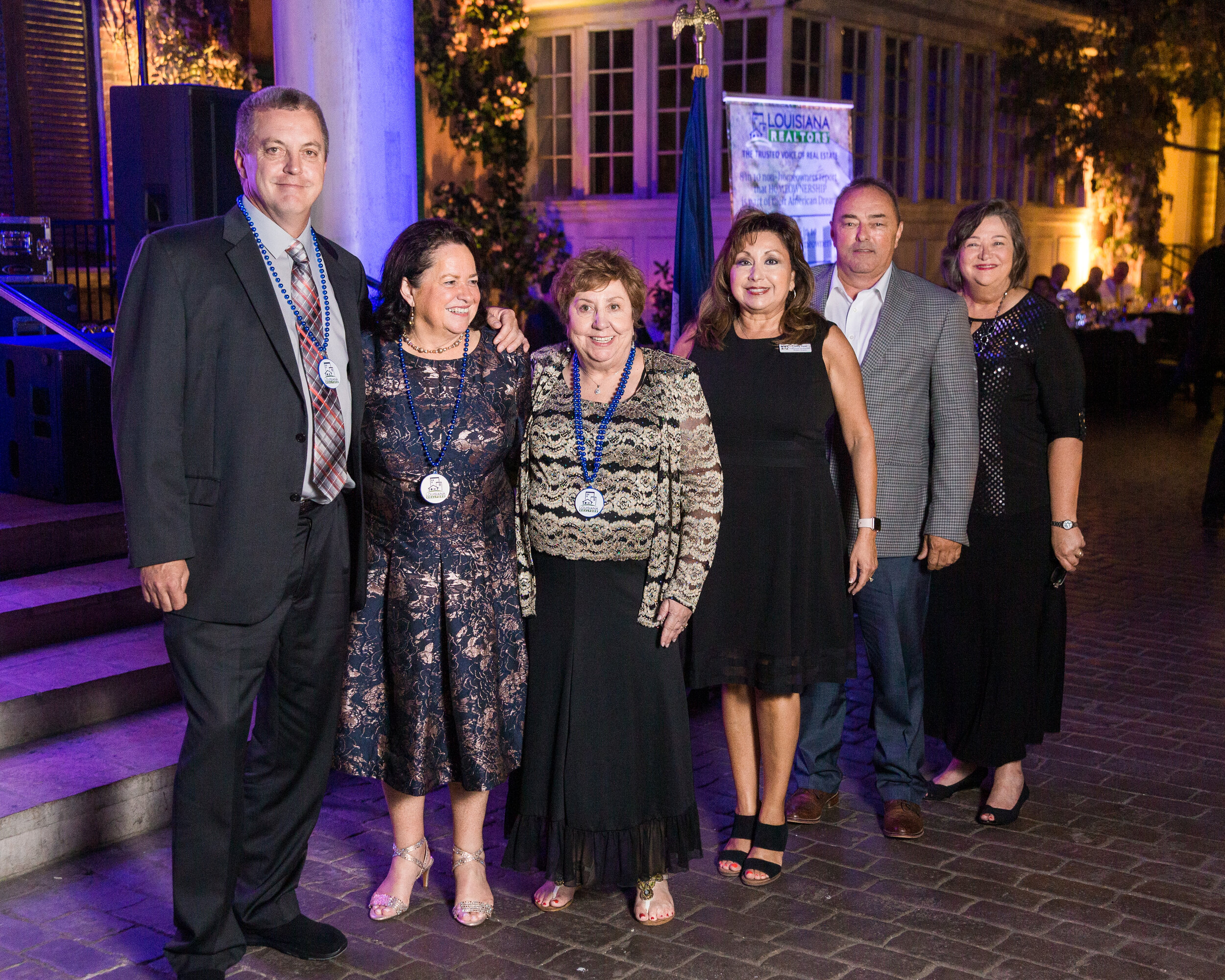 (L to R) Mark Ouchley, Evelyn Wolford, Eloise Gauthier, Cindy Dyer, Tony Corner, Karen Guerra