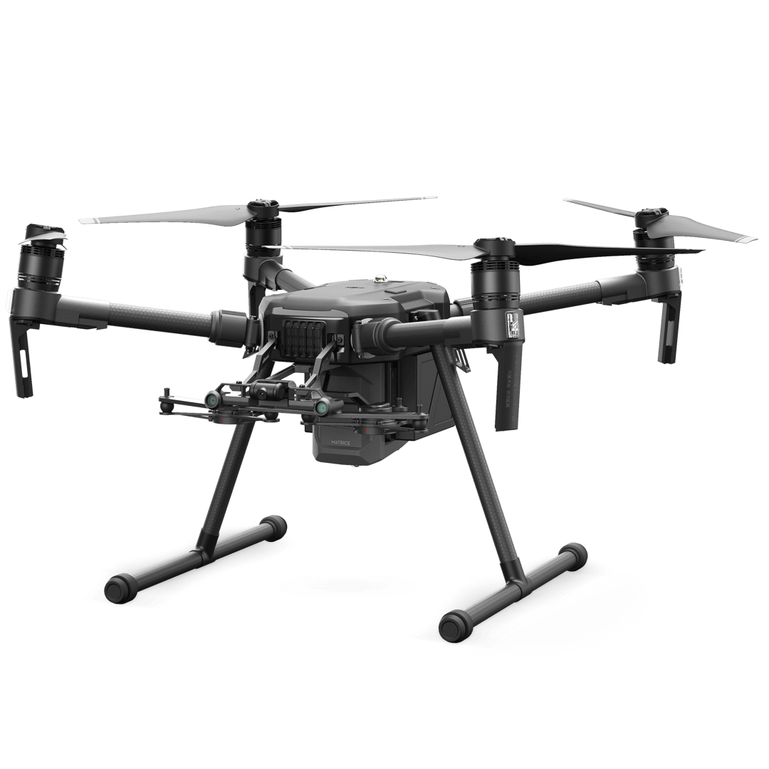 MATRICE 200 SERIES V2   The Matrice 200 Series V2 is rugged and adaptable, with upgraded flight performance and new safety features. Multiple payload configurations are available.