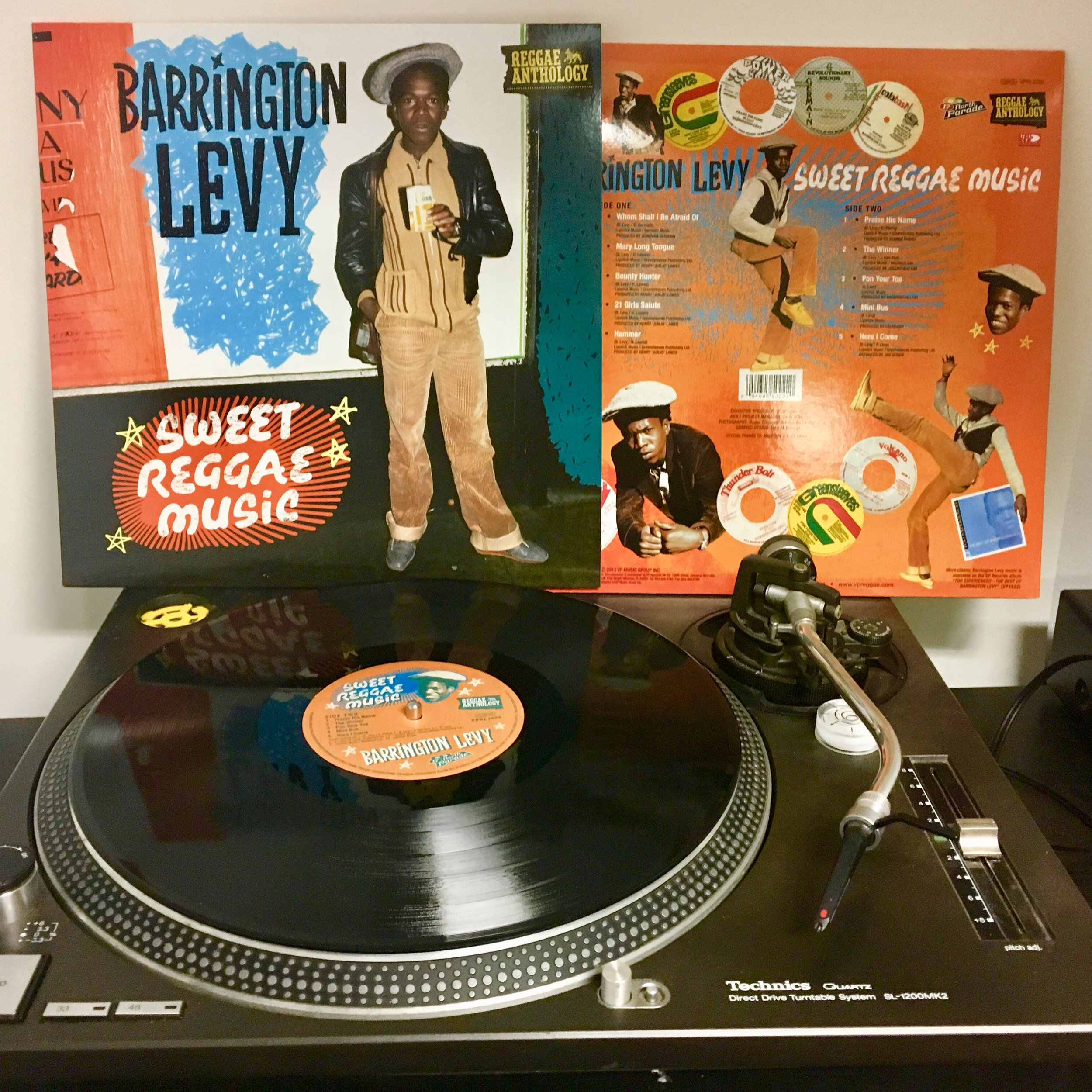 BARRINGTON LEVY   Sweet Reggae Music  Artist Link : www.barringtonlevy.com Record Label : VP Records