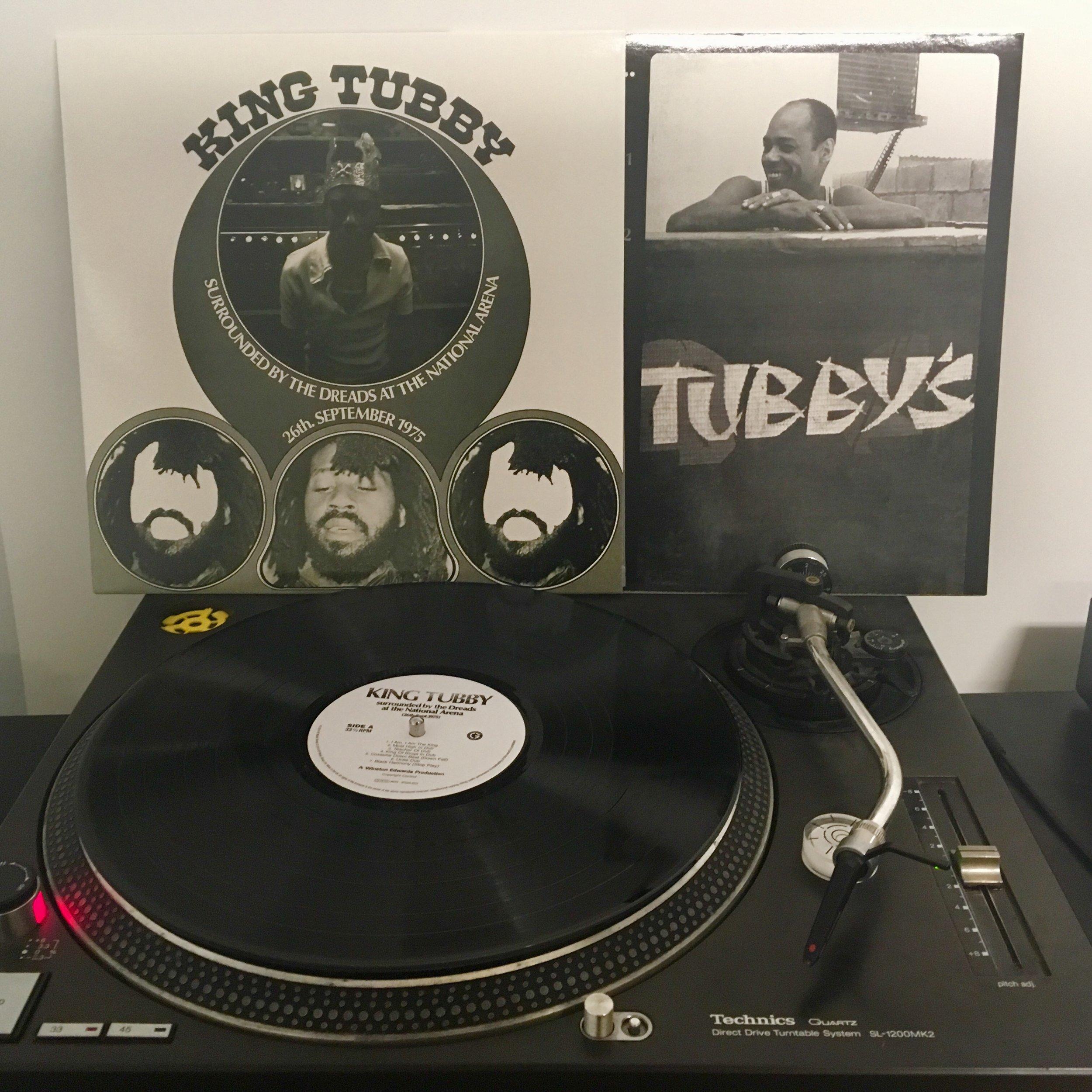 KING TUBBY   Surrounded By The Dreads At The National Arena   Artist Link :  http://www.factmag.com/2015/05/19/king-tubby-beginners-guide-dub-reggae/ L abel : VP Records