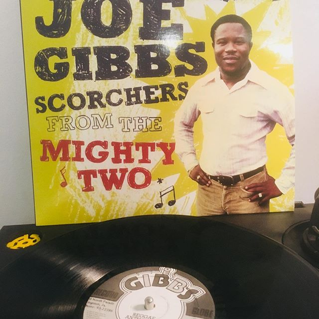 We've come full circle...pressing the Joe Gibbs reissue of Scorches From The Mighty Two on the same exact press that Joe Gibbs himself originally set up back in 1979. #vinyl #vinylrecords #reggaemusic #joegibbs #joegibbsrecords #vinylpressing #sunpressvinyl