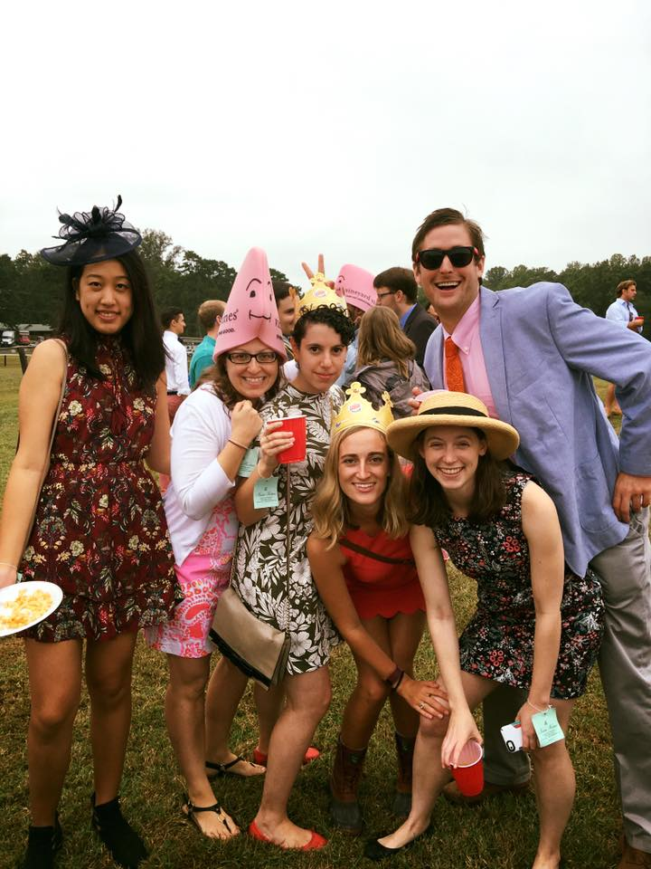 3Ls dress absurdly at Foxfield 2016. Photo courtesy of content Facebook.com.