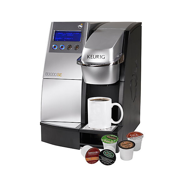 The law library's wasteful but free coffee option. Photo courtesy Keurig.com.