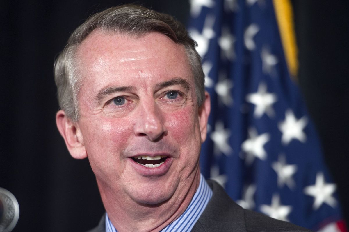 Gubernatorial candidate Ed Gillespie. Photo courtesy of the Richmond Times Dispatch.