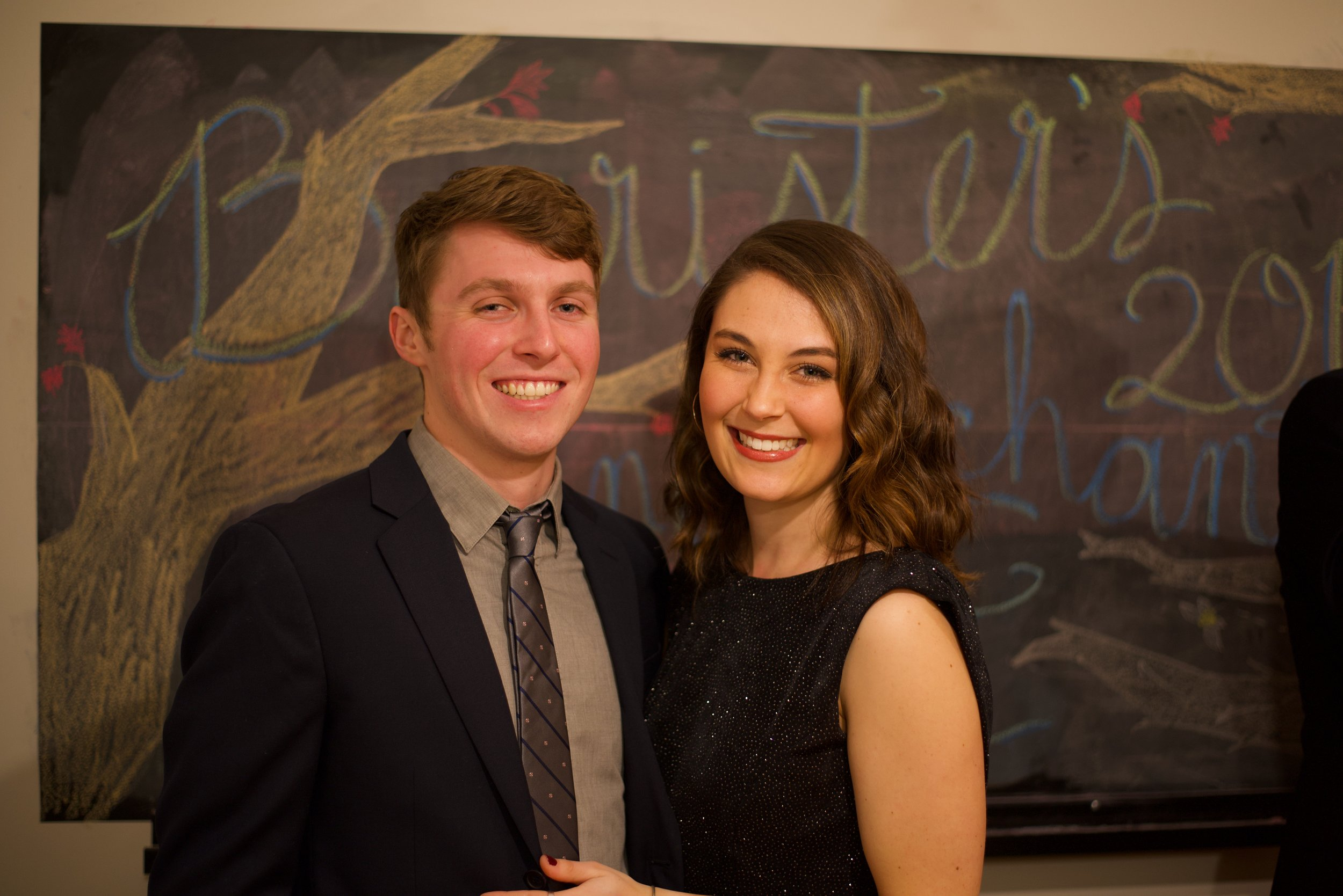 Deposed  Virginia Law Weekly  despot Jenna Goldman '18 and her boyfriend Matt. Eric Hall /  Virginia Law Weekly