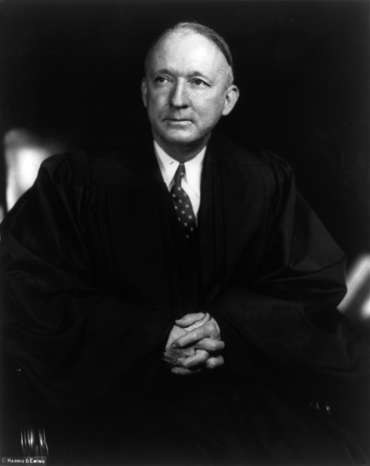Hugo Black in 1937. Photo courtesy Library of Congress