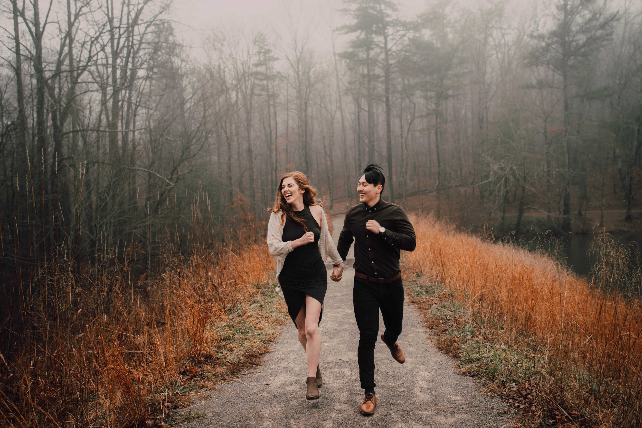 Kyung Woo + DeAnne || Chilhowee TN Mountain-top Lake Engagement