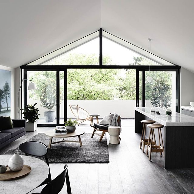 Open Floor Plan and Indoor-Outdoor Living as beautifully exemplified by Architect Robert Mills