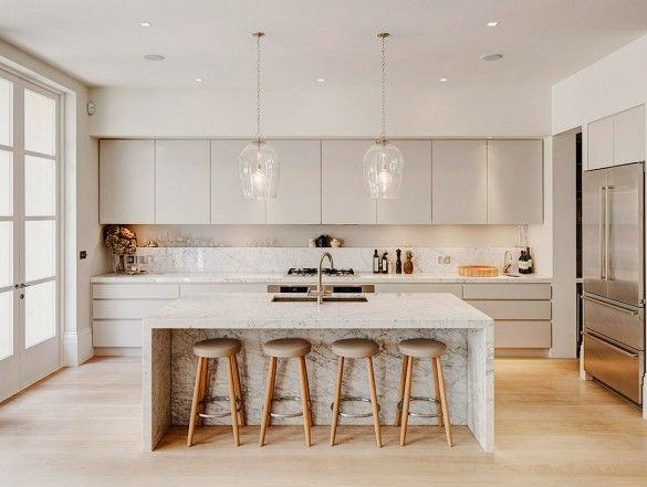 Prime example of a kitchen that makes cooking and entertaining seamless.