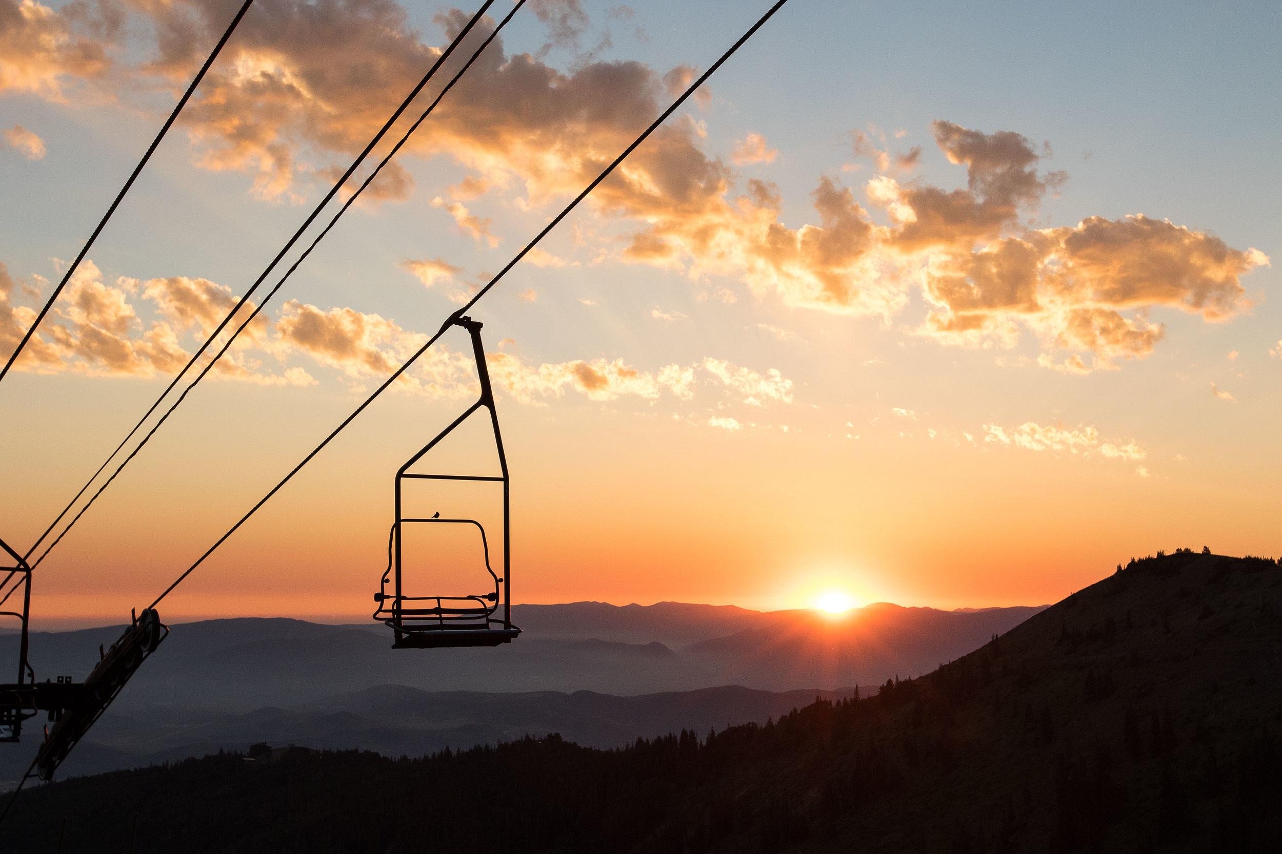 2016 - Sunrise at the top of Jupiter Lift
