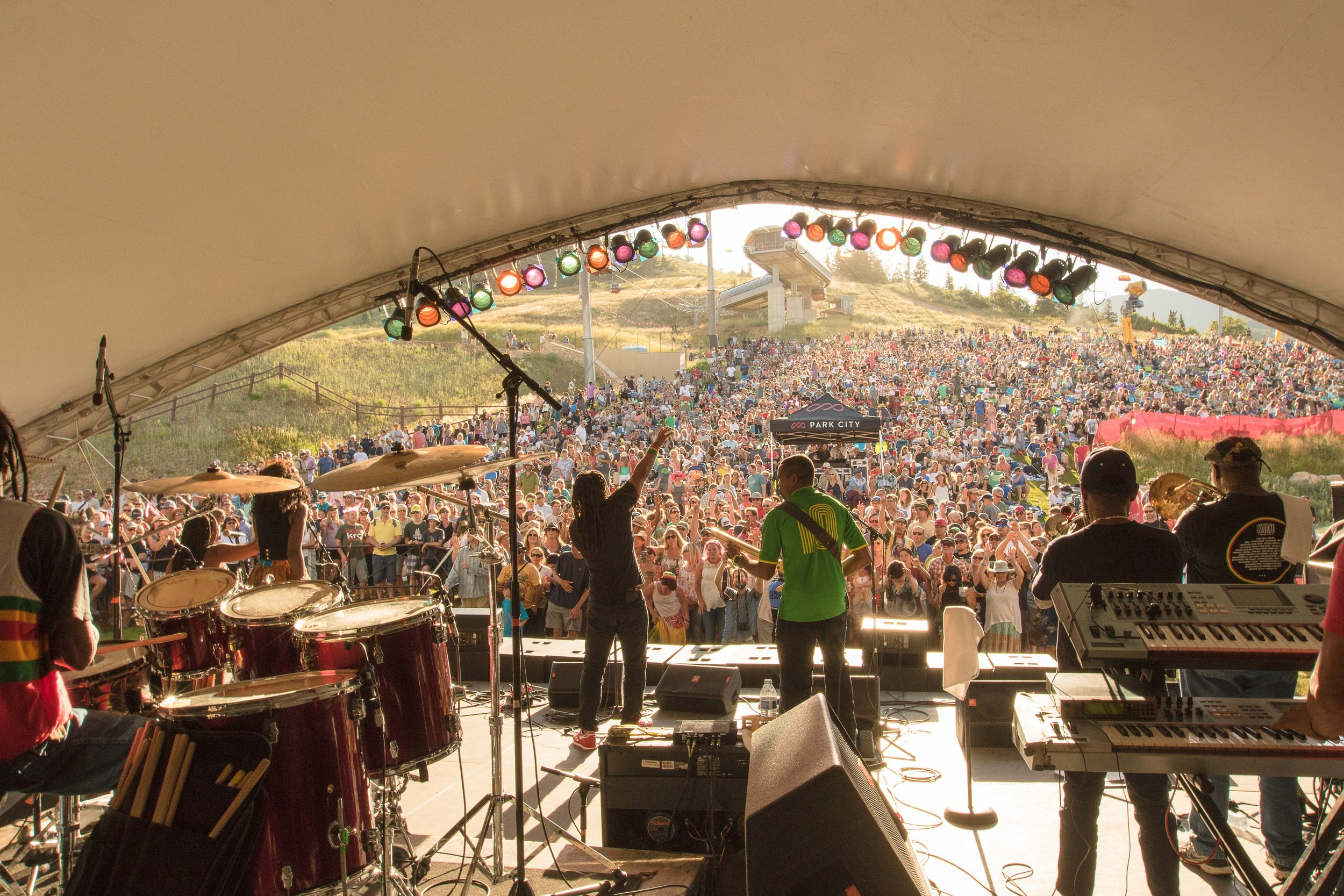 2016 - The Wailers, Canyons Village