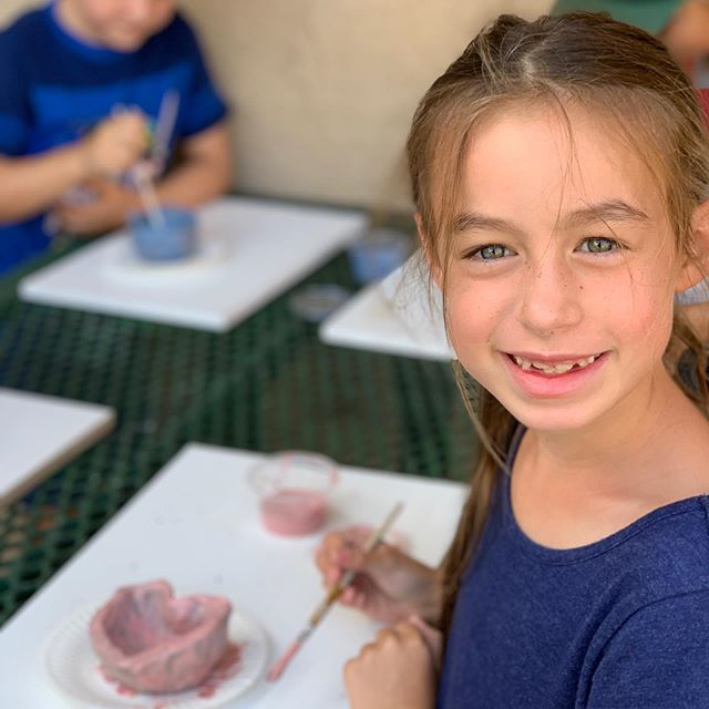 We are having so much fun at @okueducation on Wednesdays and Thursdays🥳! Here's another one of our favorite students creating a masterpiece in the after school program. It's almost time to bring finished projects home 🤩. #ceramics #ceramic #ceramichandmade #handmade #clay #clayart #homeschool #homeschoollife #homeschooldays #homeschoolmom #homeschoolday #homeschooliscool #homeschoollifestyle #homeschooling #homeschoolfun #homeschooler #homeschooled #homeschoolart #homeschoolrocks #fountainvalleyca #huntingtonbeachca #orangecountyca