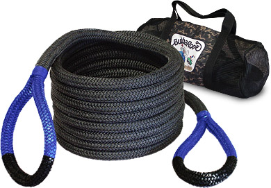 Bubba Rope has a full line of recovery ropes designed for a full range of weight ratings and application, including marine.  Image: Bubba Rope