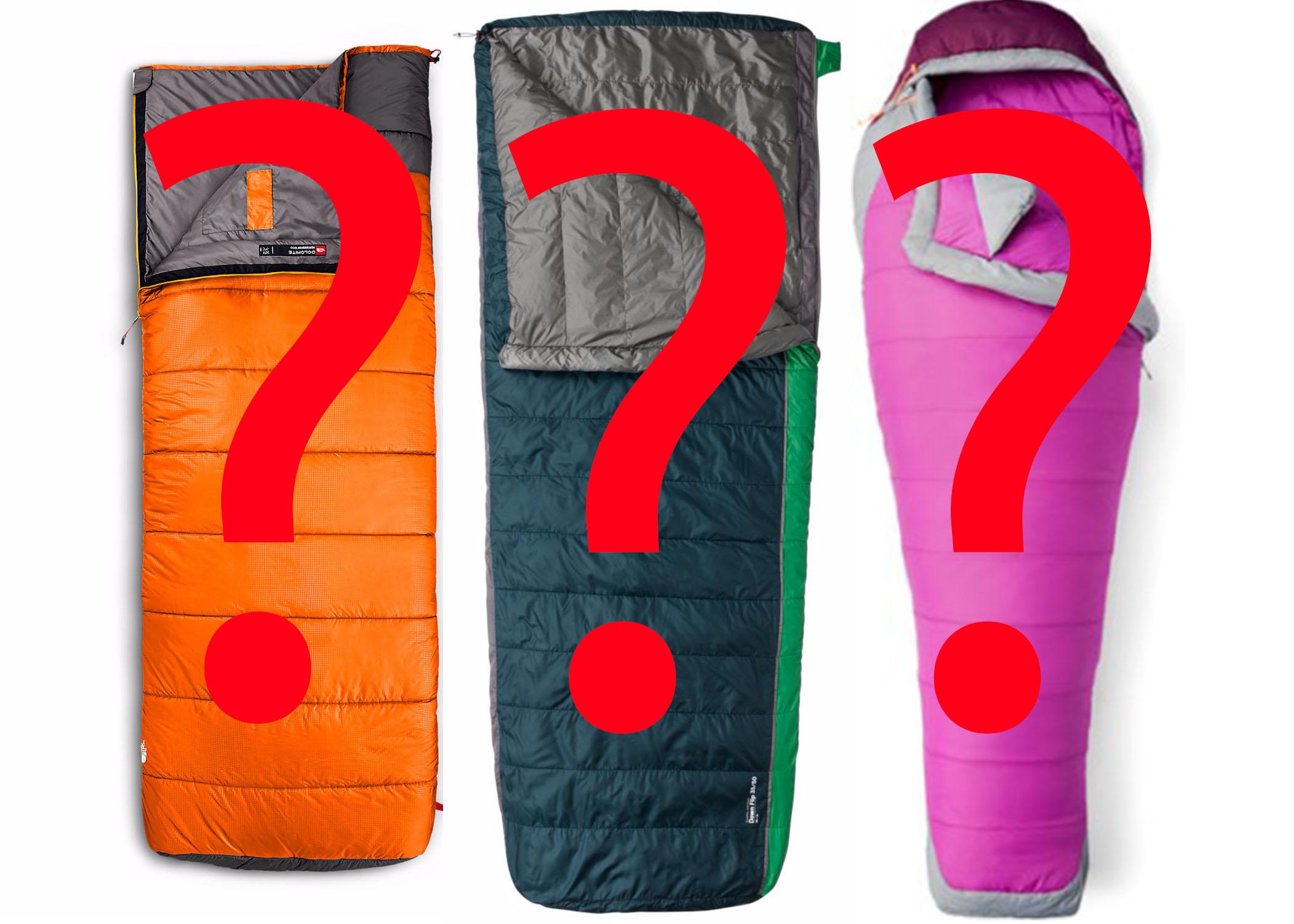 Choosing a sleeping bag isn't as difficult as it may first seem.