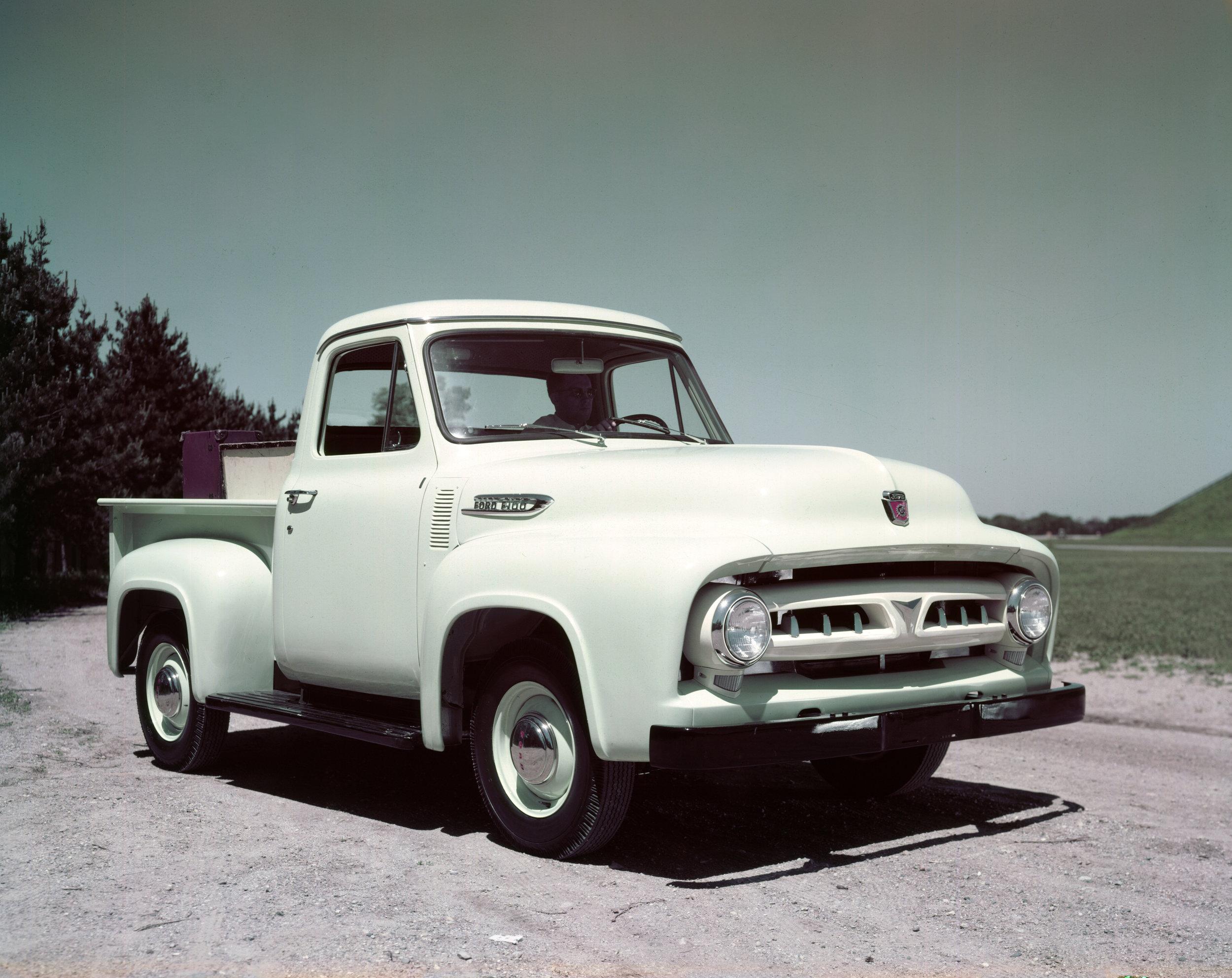 1953 Ford F100. Image: FoMoCo