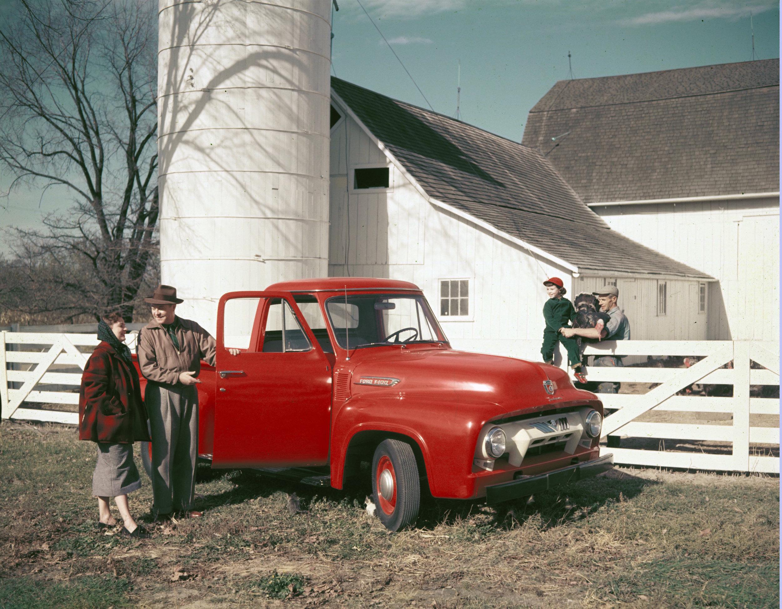 1954 Ford F100. Image: FoMoCo
