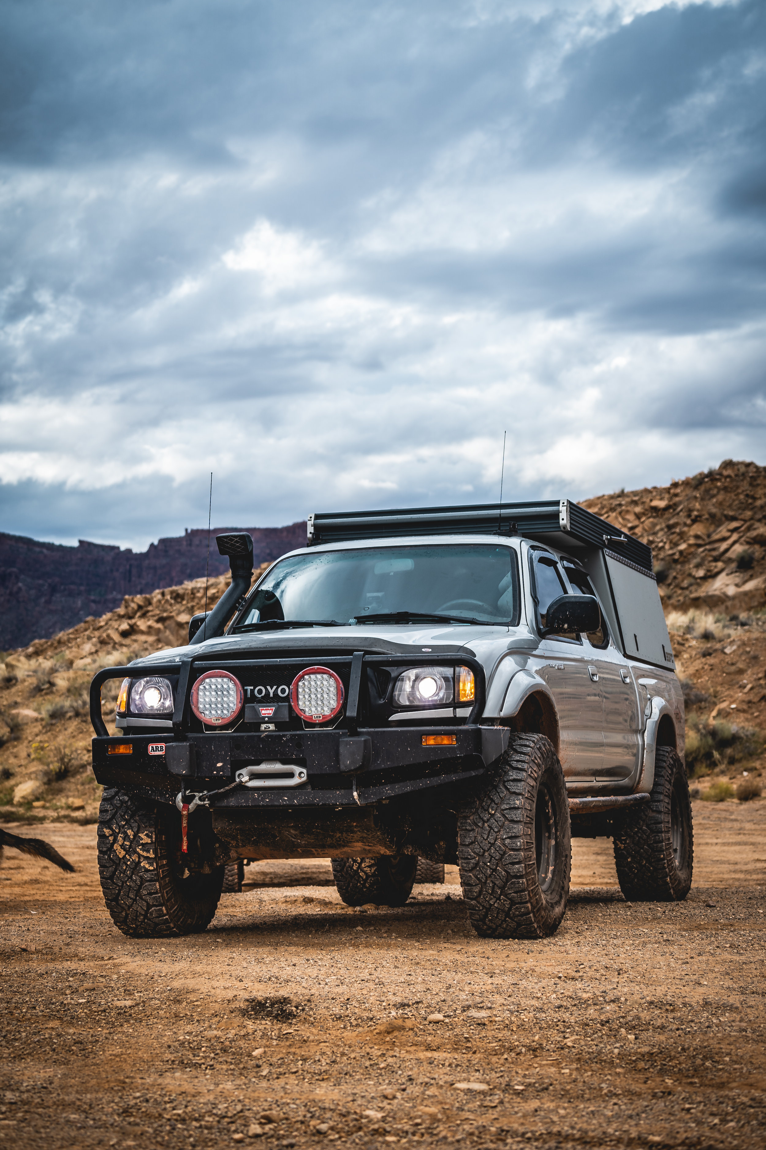 Gfc Equipped First Gen Toyota Tacoma Overland Kitted