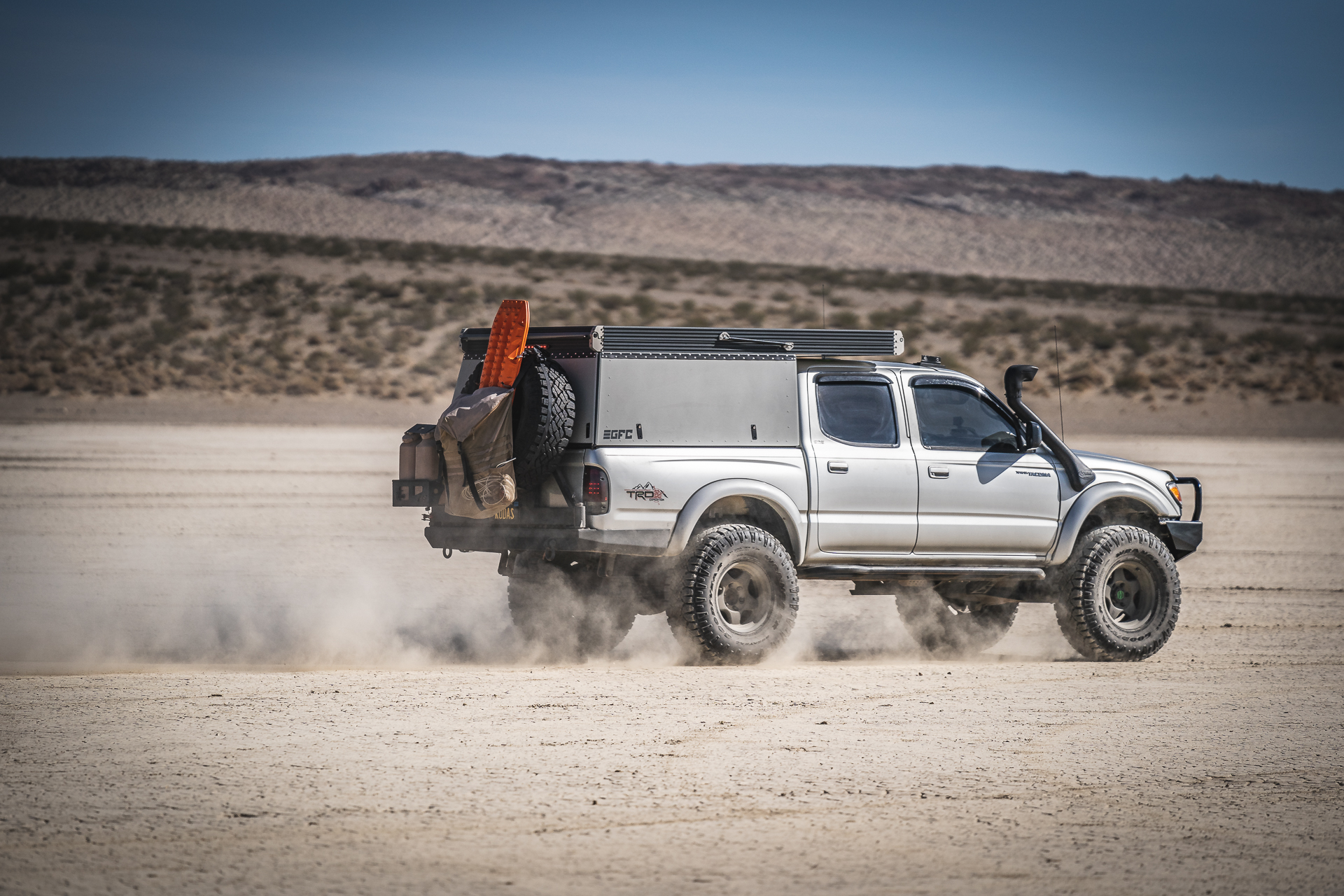 GFC Equipped First Gen Toyota Tacoma — Overland Kitted