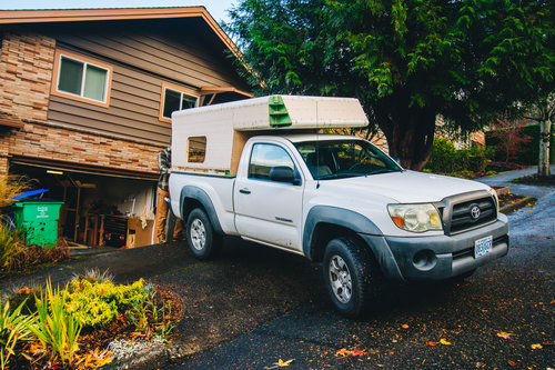 This DIY Tacoma Camper is Perfect