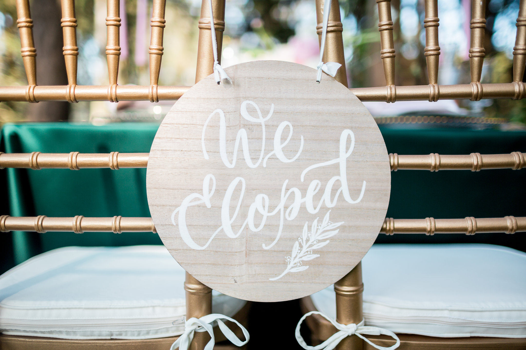 Elopement Announcement Esmerald and Gold Inspired by Paperloveme Calligraphy51.jpg
