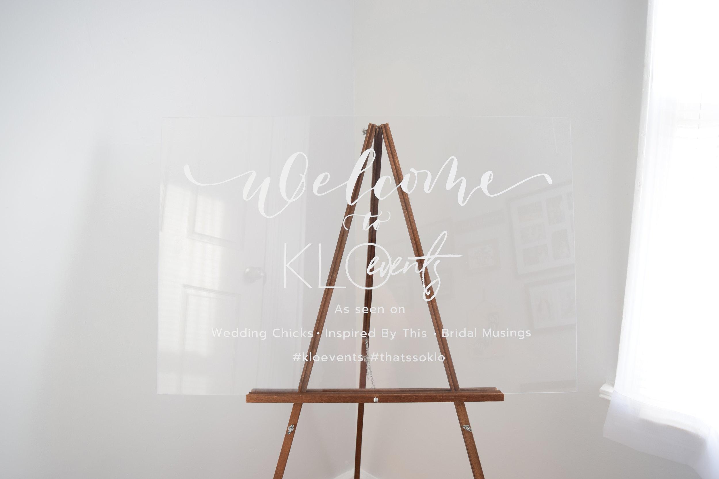 minimalistic and modern acrylic wedding sign for rent.JPG