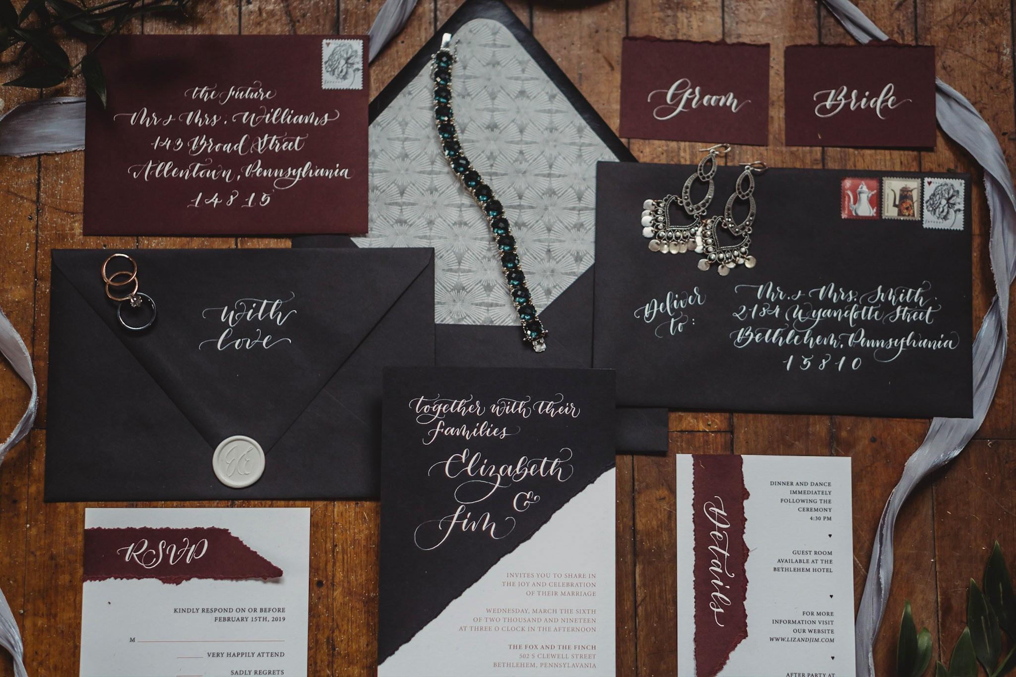 Moody Vintage Wedding Inspiration in Bethlehem PA10.jpg