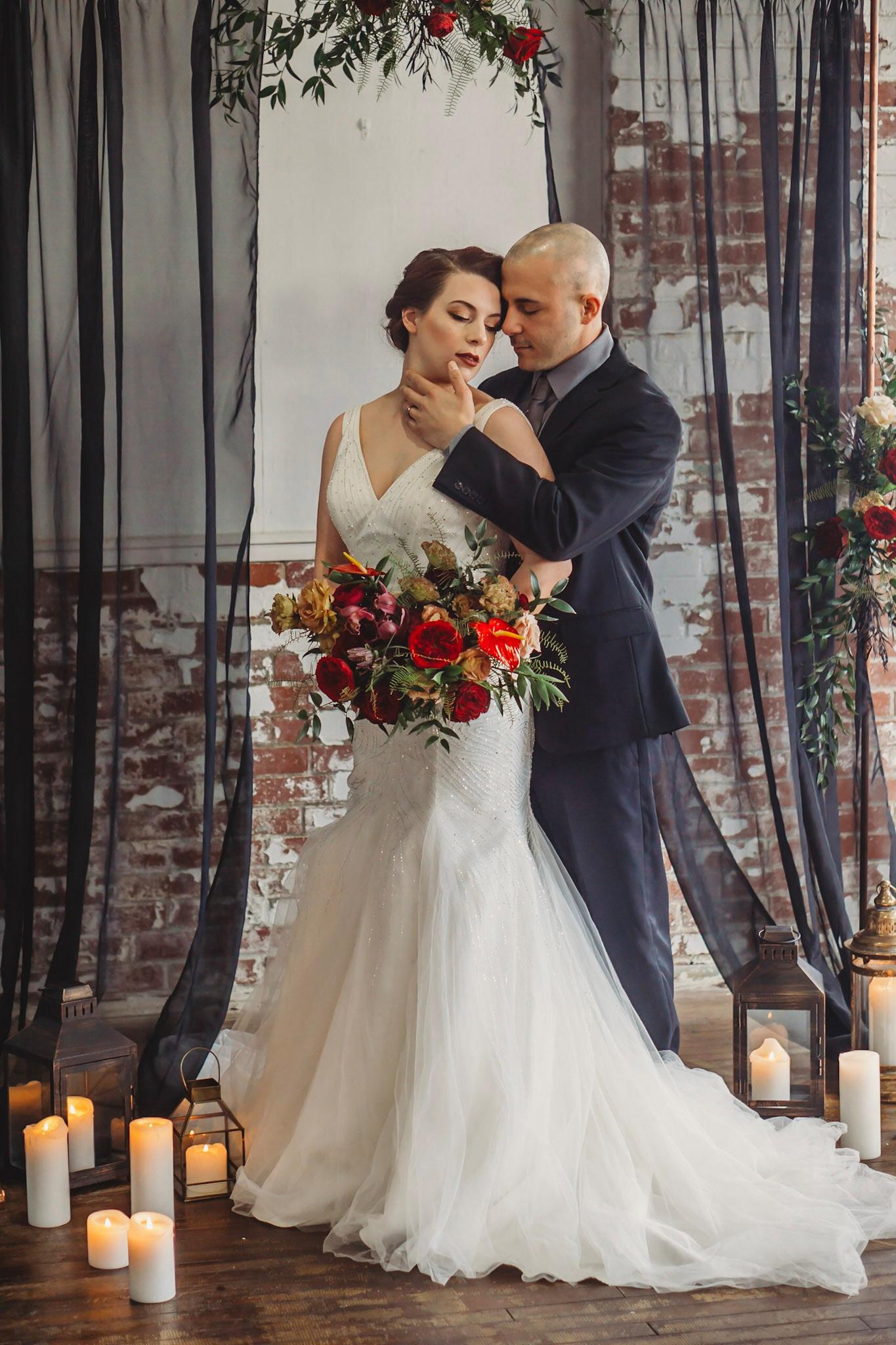 Moody Vintage Wedding Inspiration in Bethlehem PA25.jpg