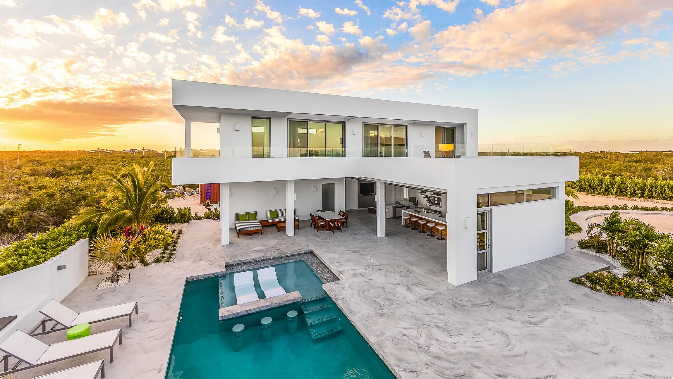 White Villas in Turks and Caicos