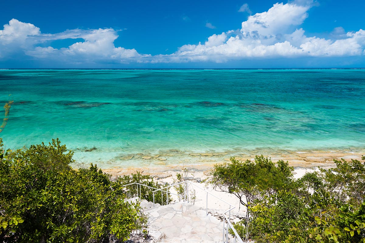 Turtle Cove in Turks and Caicos