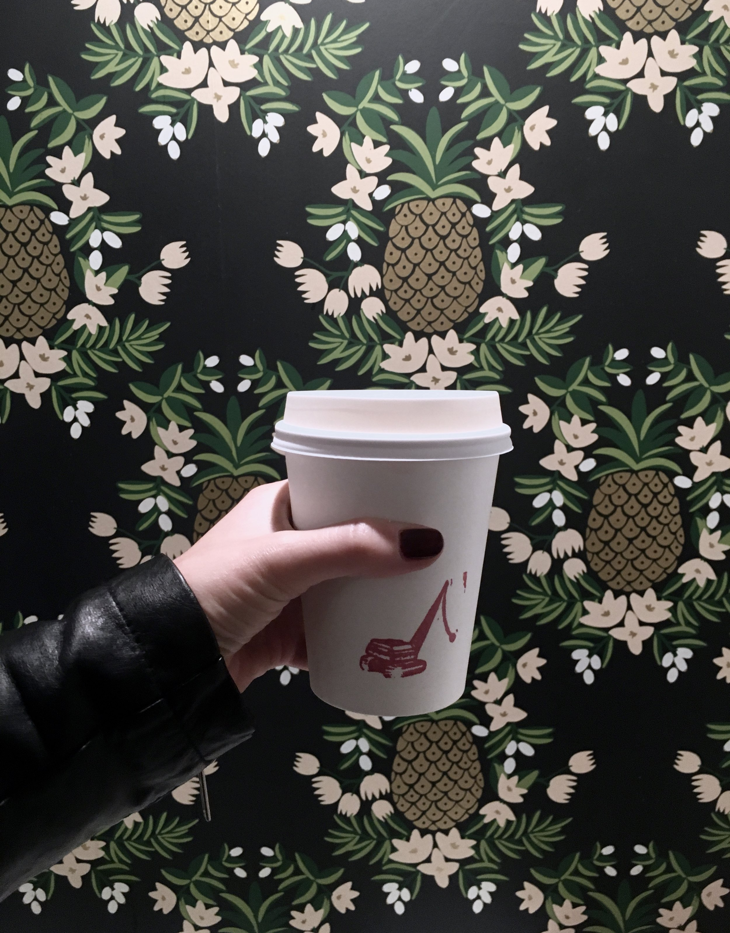 Wrecking Ball Coffee Roasters & Rifle Paper Co. Wallpaper