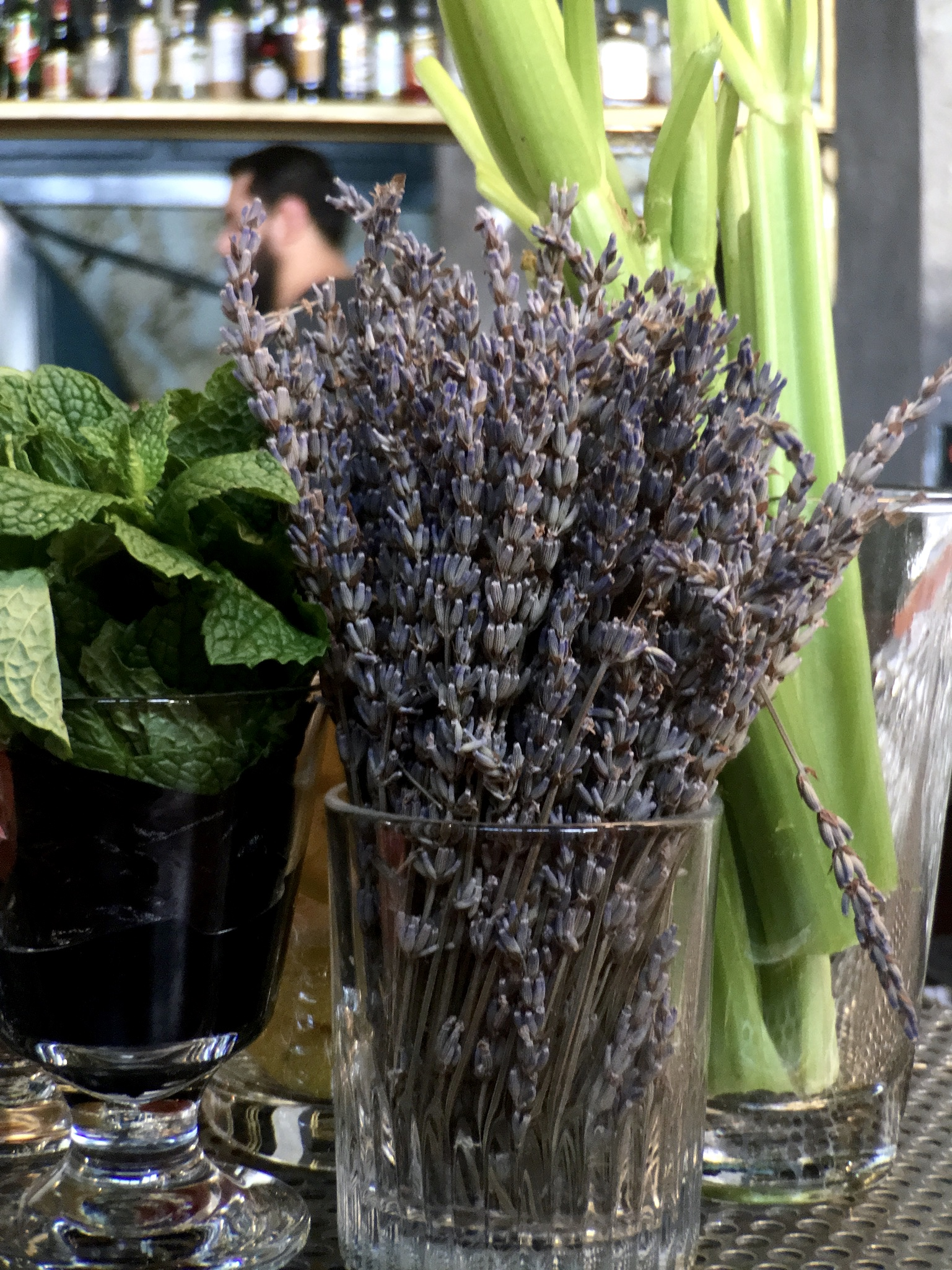 Bunch of Lavender from The Dorian in San Francisco