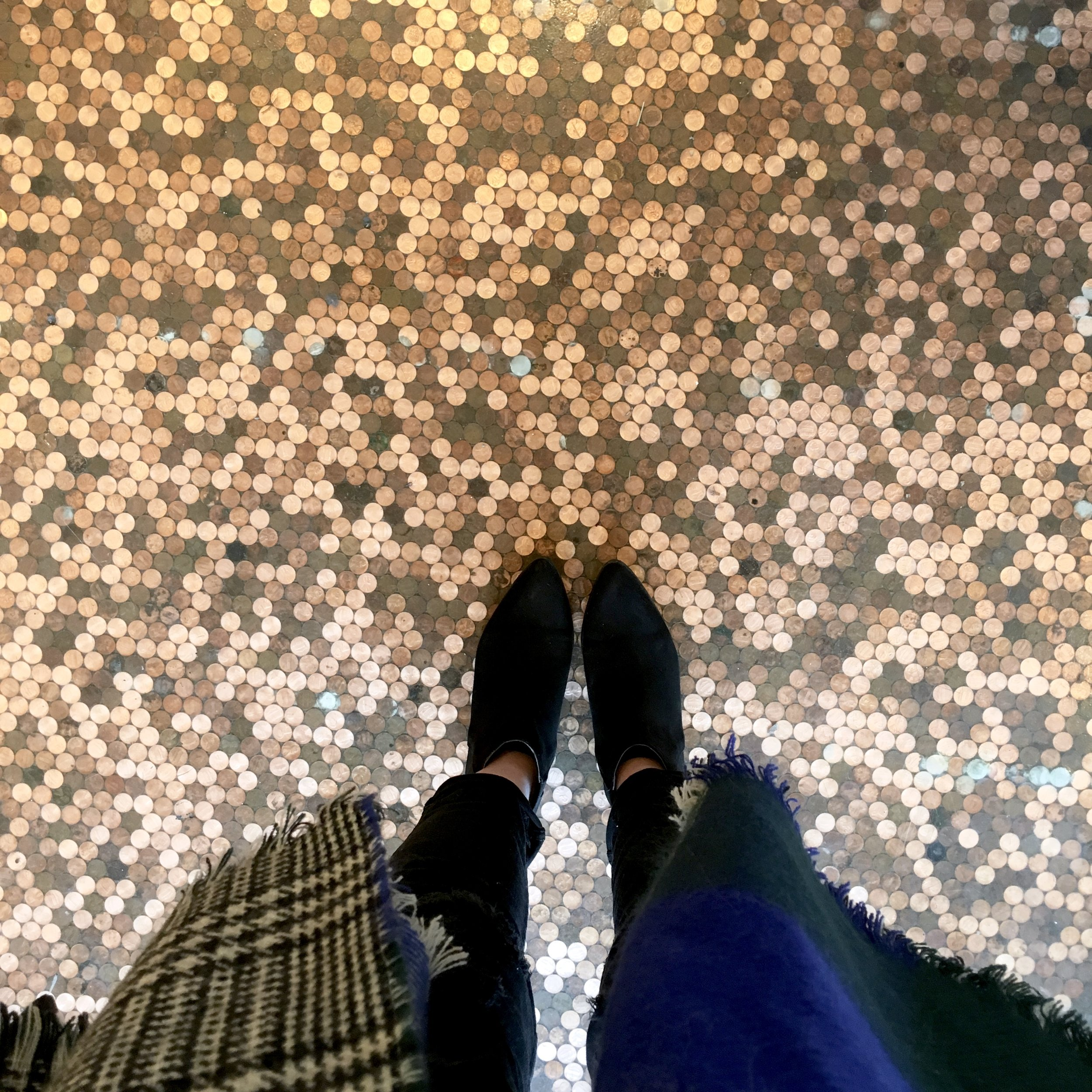 Penny Floors at Temple Coffee in Sacramento