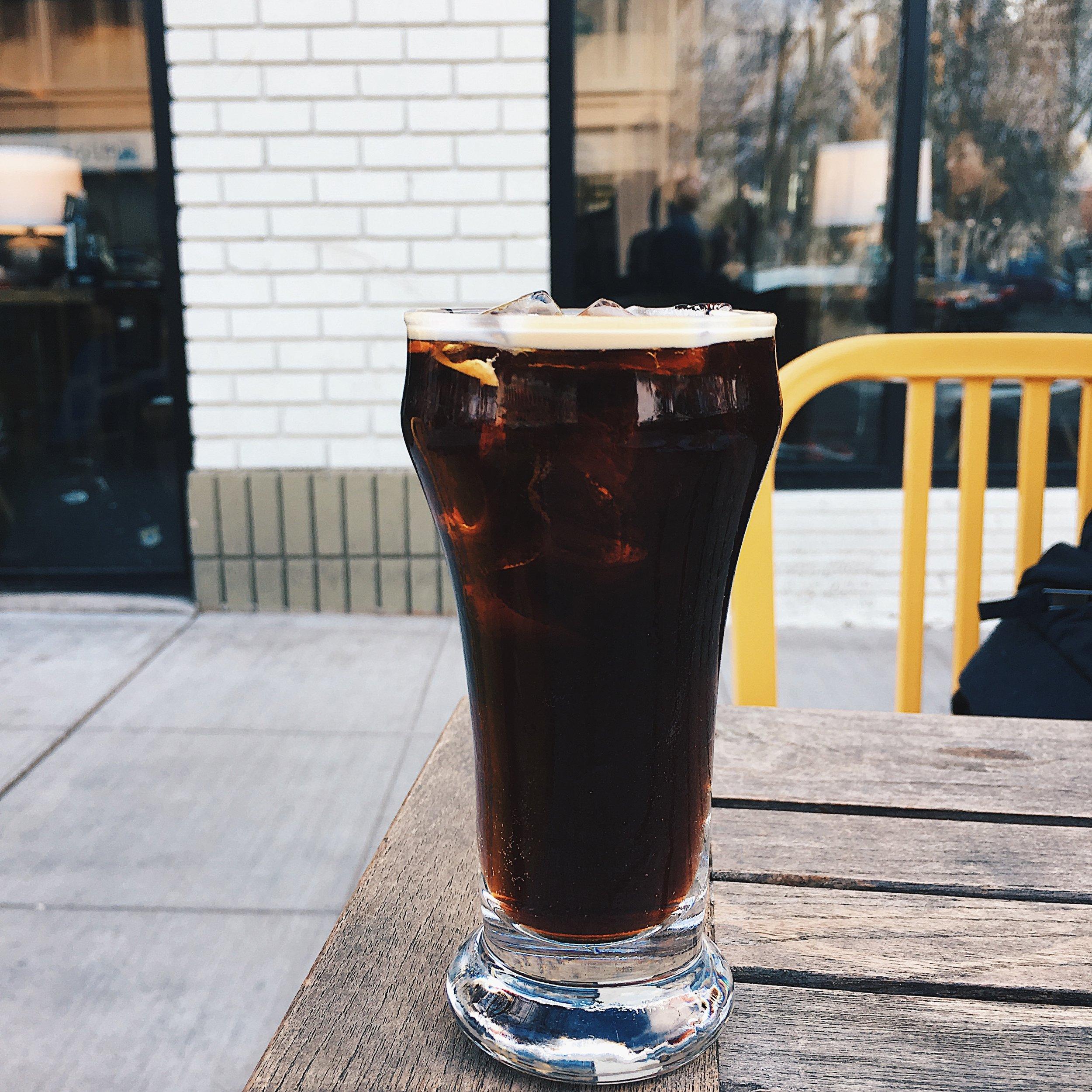 Nitro Cold Brew from Temple Coffee in Sacramento