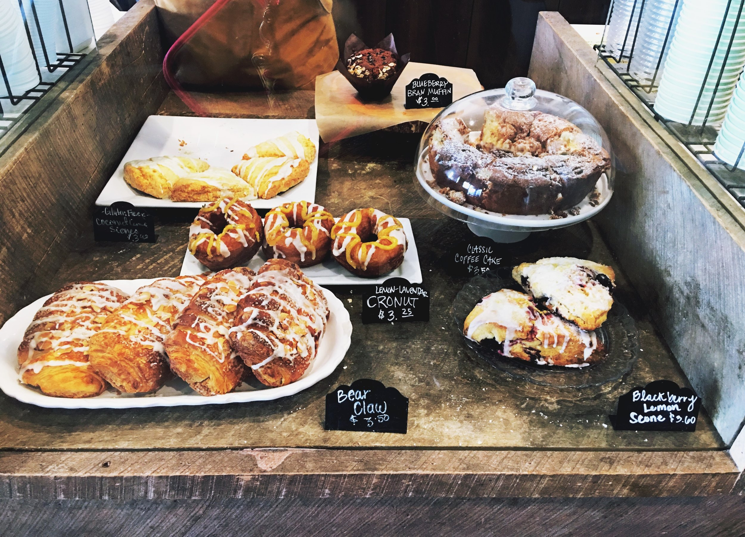 Sweet Treats and Baked Goods from La Mo Cafe